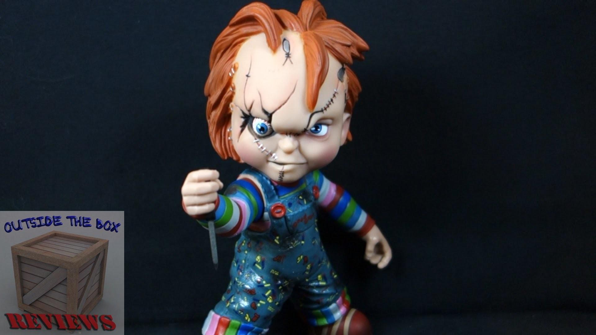 """""""Chucky"""" Mezco Vinyl Stylized Figure – YouTube"""