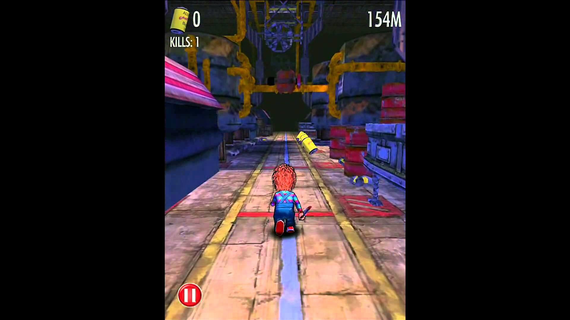 Chucky Slash & Dash – iPhone and iPad Gameplay HD