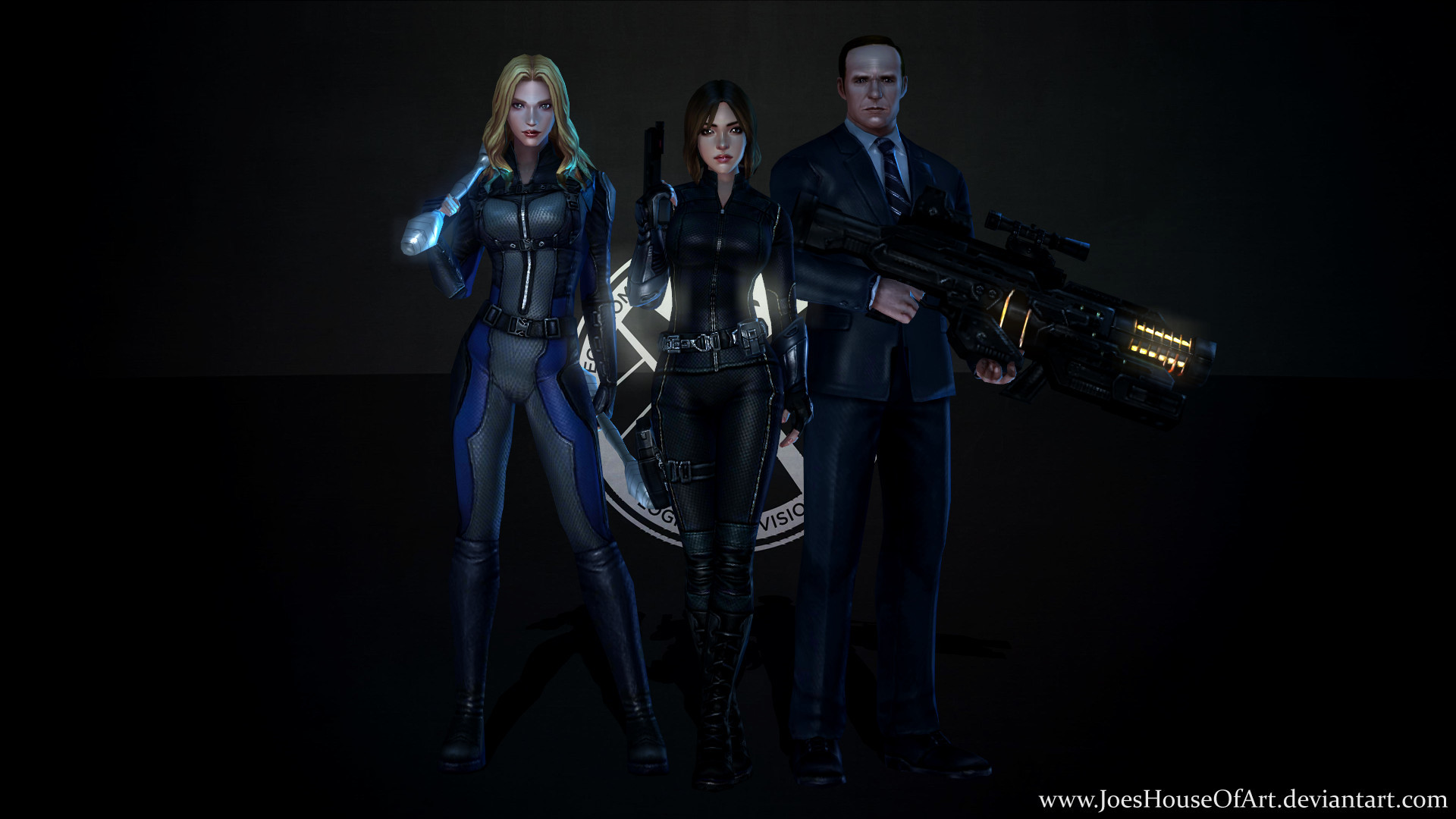… Marvel's Agents of SHIELD – Game Wallpaper by ShaunsArtHouse