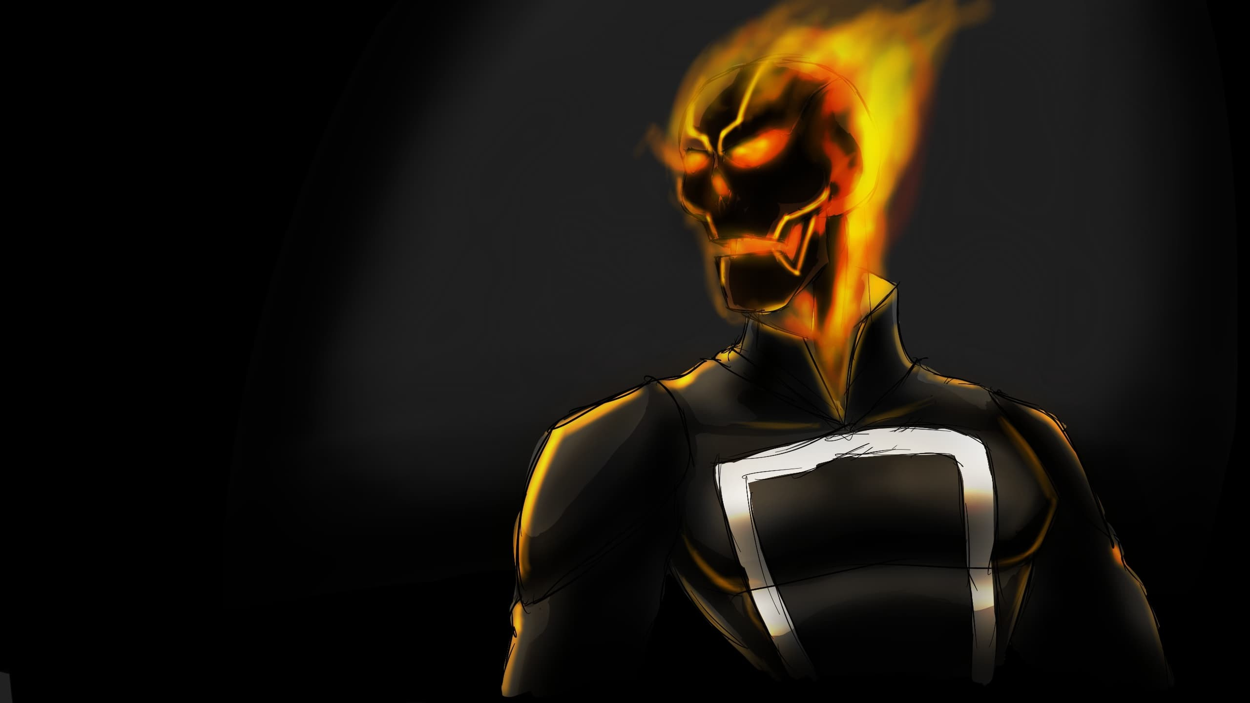 TV Series – Agents of Shield: Ghost Rider art