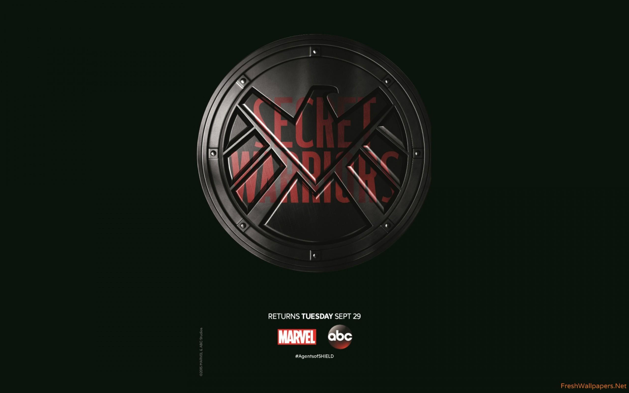 agents-of-shield-secret-warriors-season-3-poster Wallpaper: 2560×1600