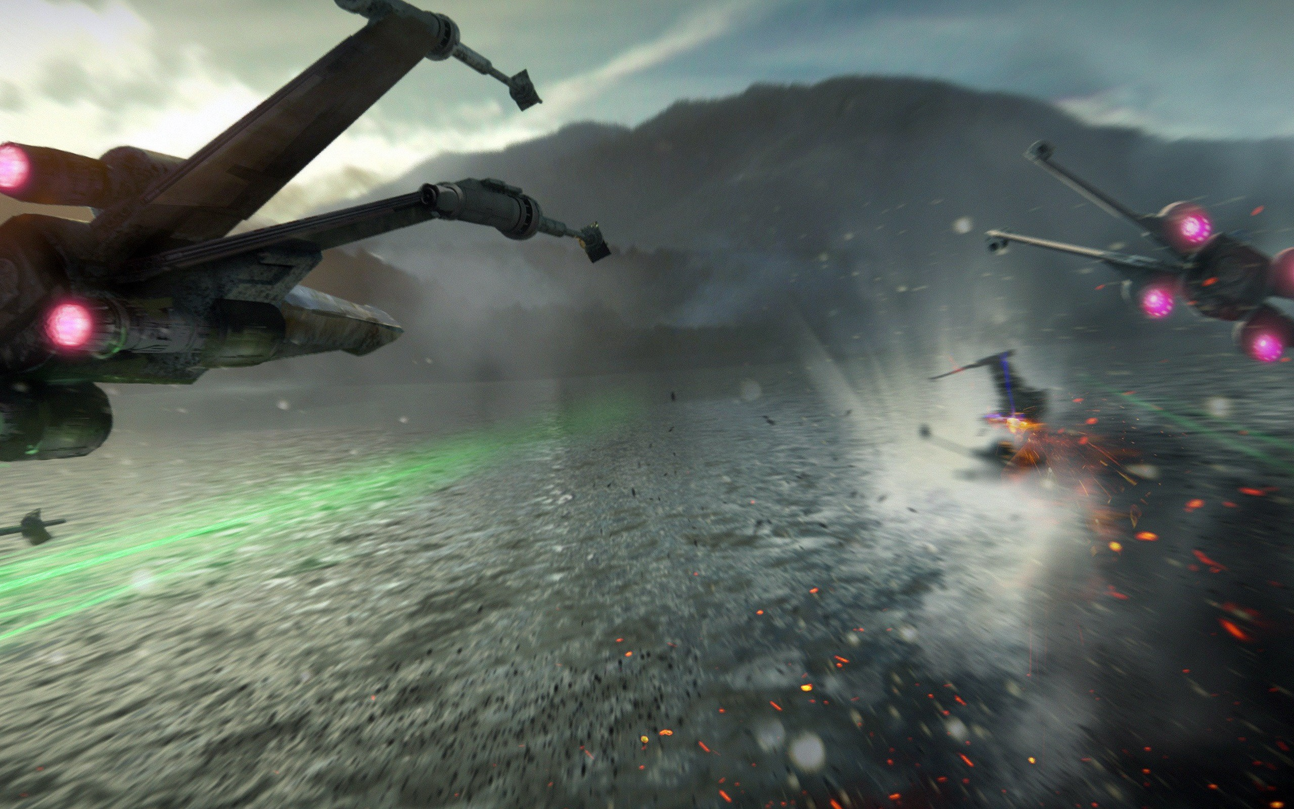 Star Wars The Force Awakens X Wing Fighter 1 HD Free Wallpaper .