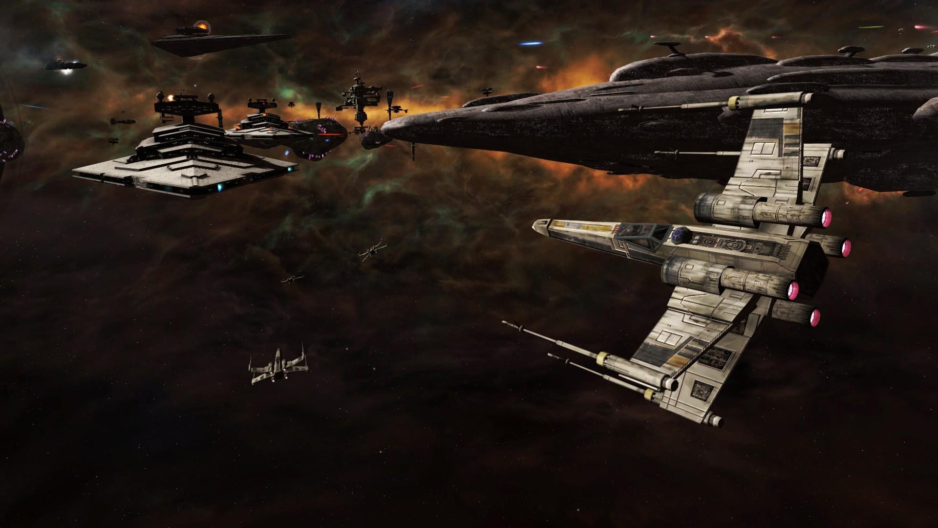 Force Awakens X Wing Wallpaper 1920×1080