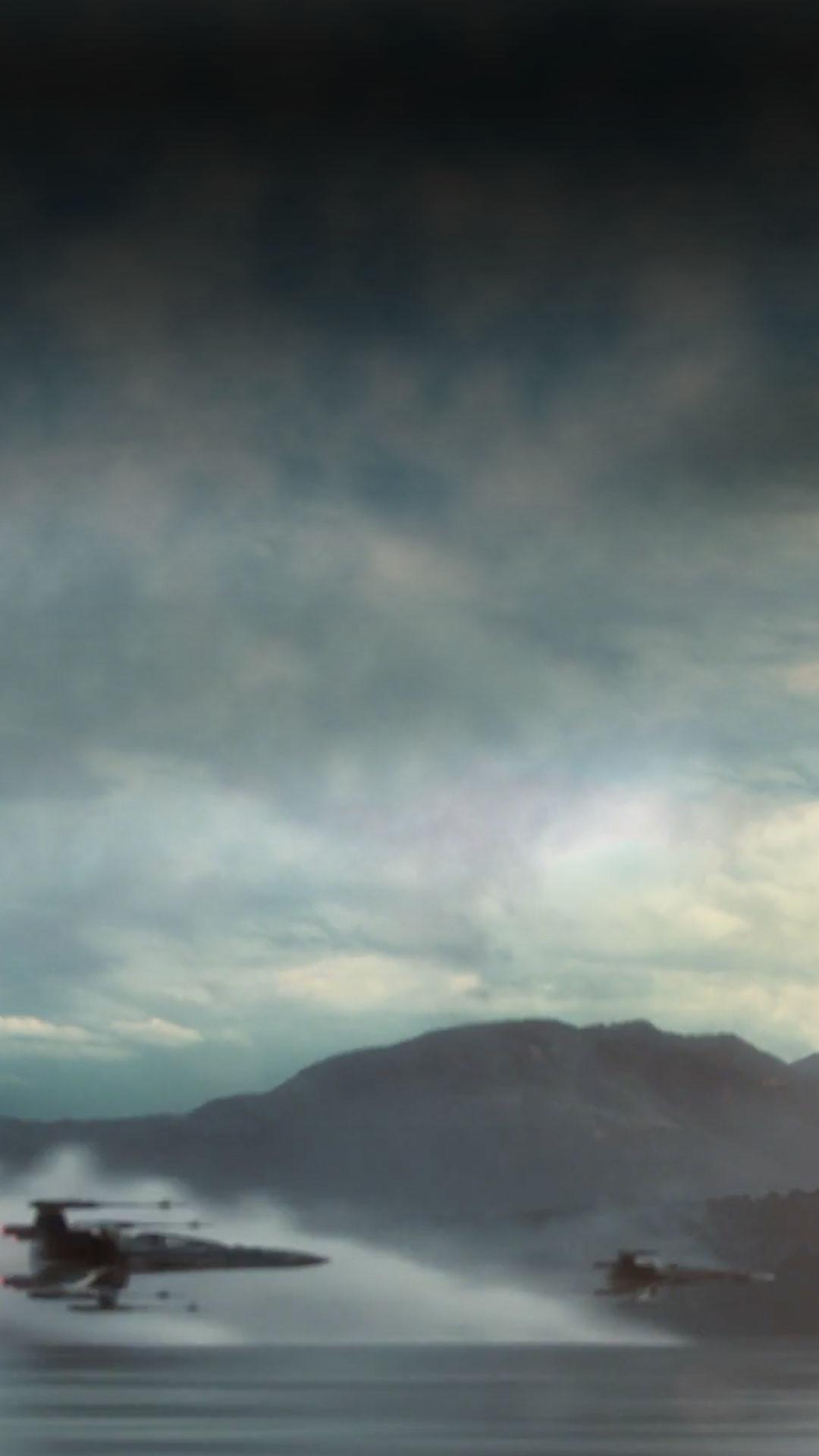 … Force Awakens Wallpaper iDownloadBlog X Wings. Download: iPhone