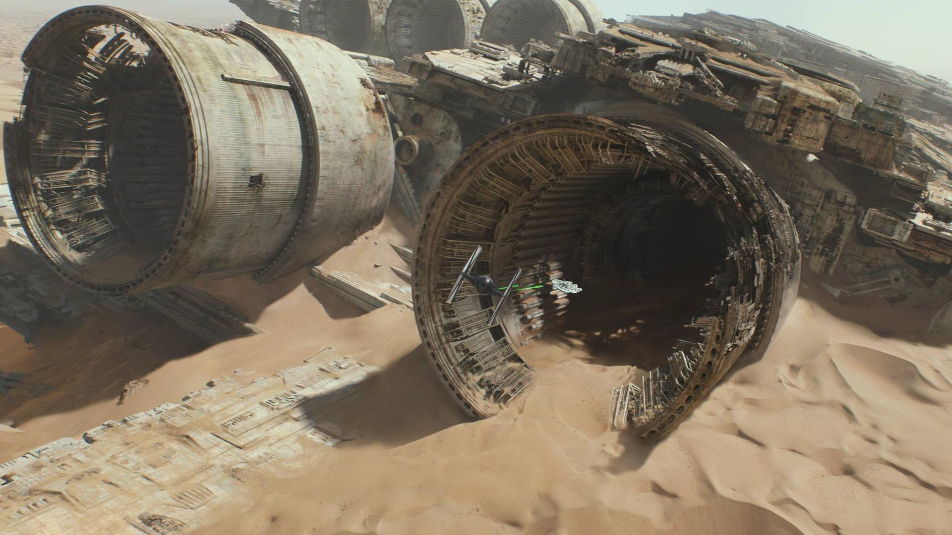 Star Wars Force Awakens Tattooine Wallpaper
