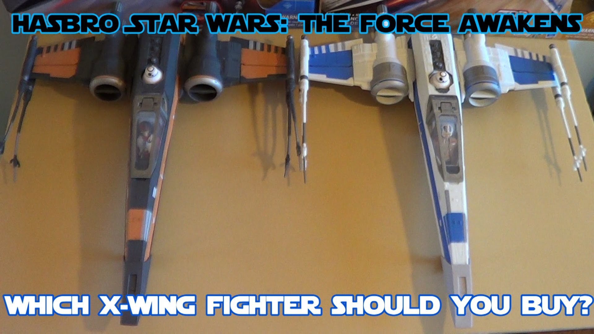 Hasbro Star Wars: The Force Awakens X-Wing Starfighter HD Comparison and  Review – YouTube