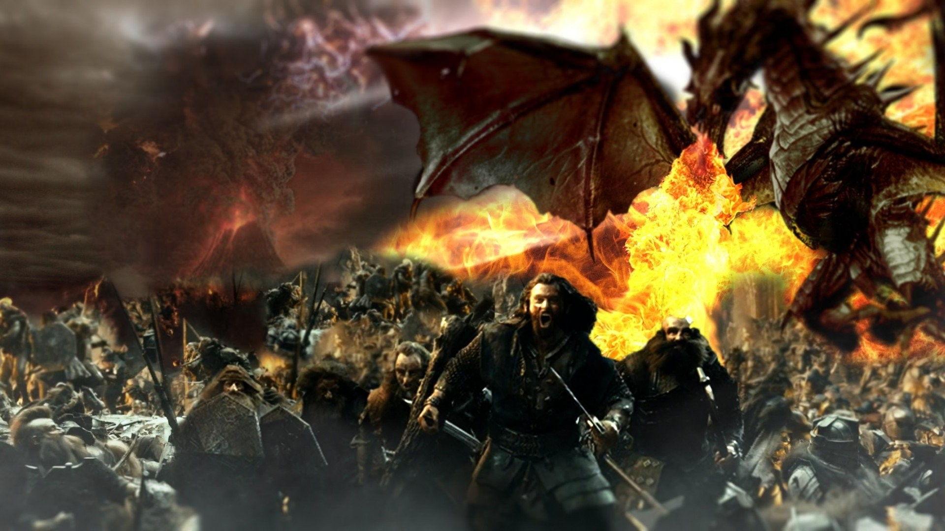 Hobbit Smaug 789234