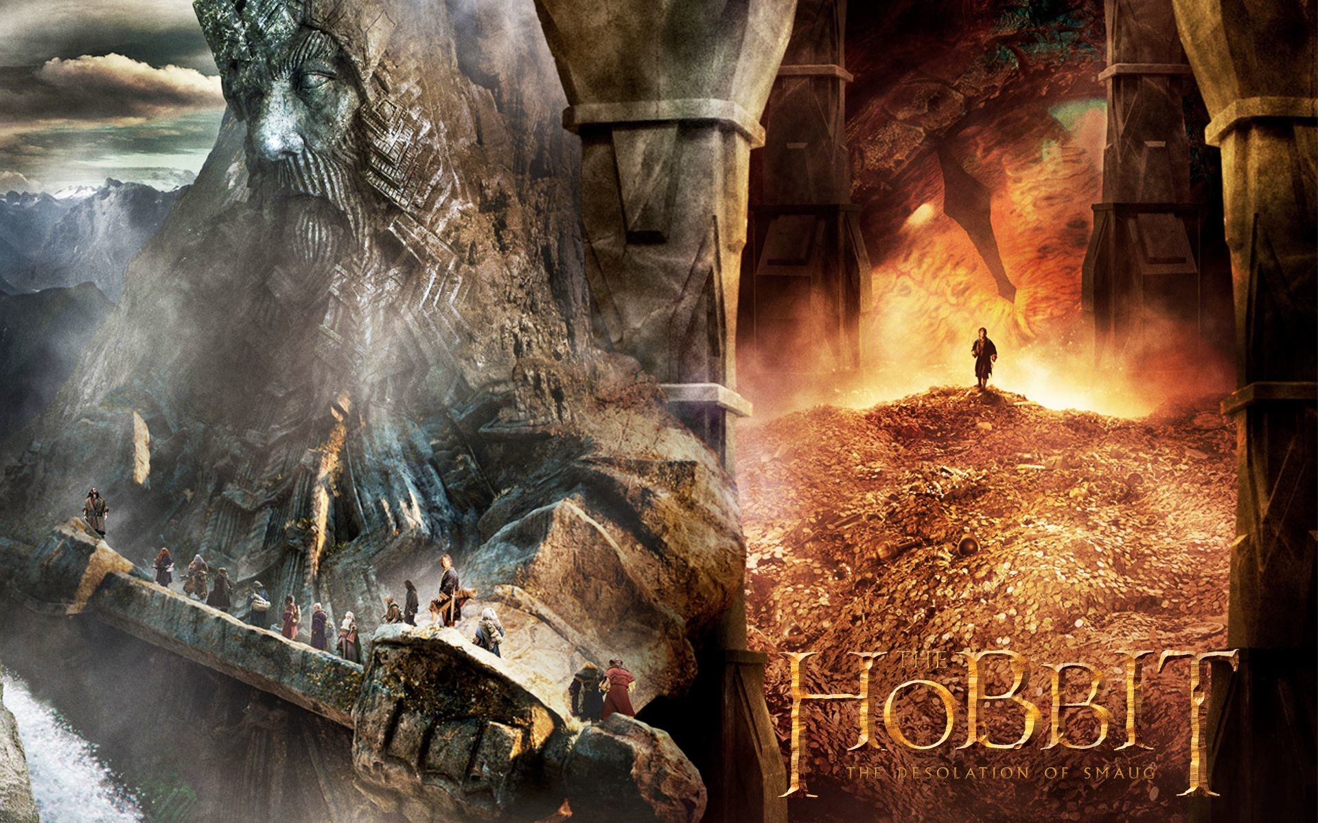 The Hobbit: The Desolation of Smaug Wallpaper – The Hobbit .