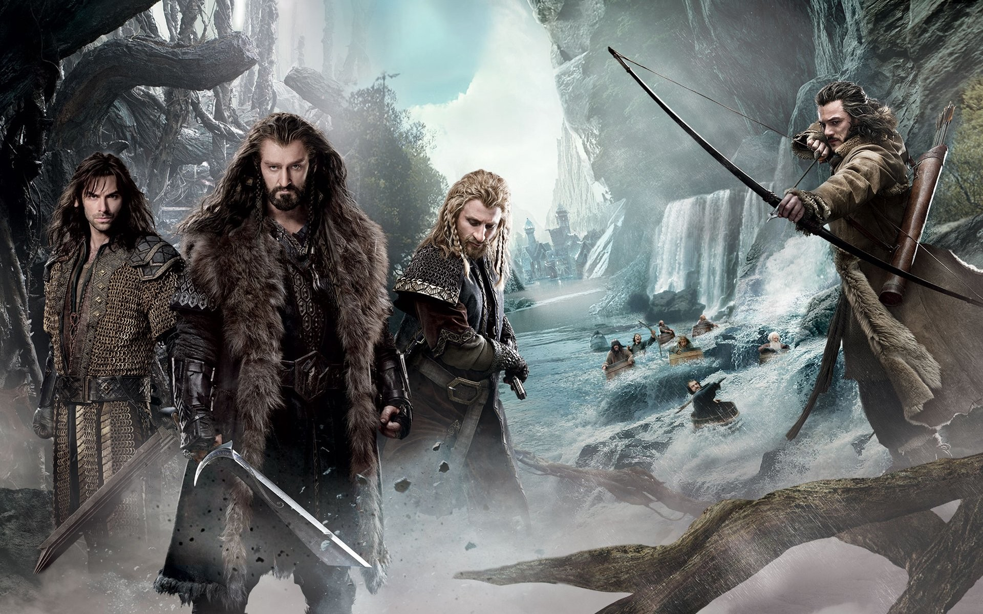 Movie – The Hobbit: The Desolation of Smaug Wallpaper