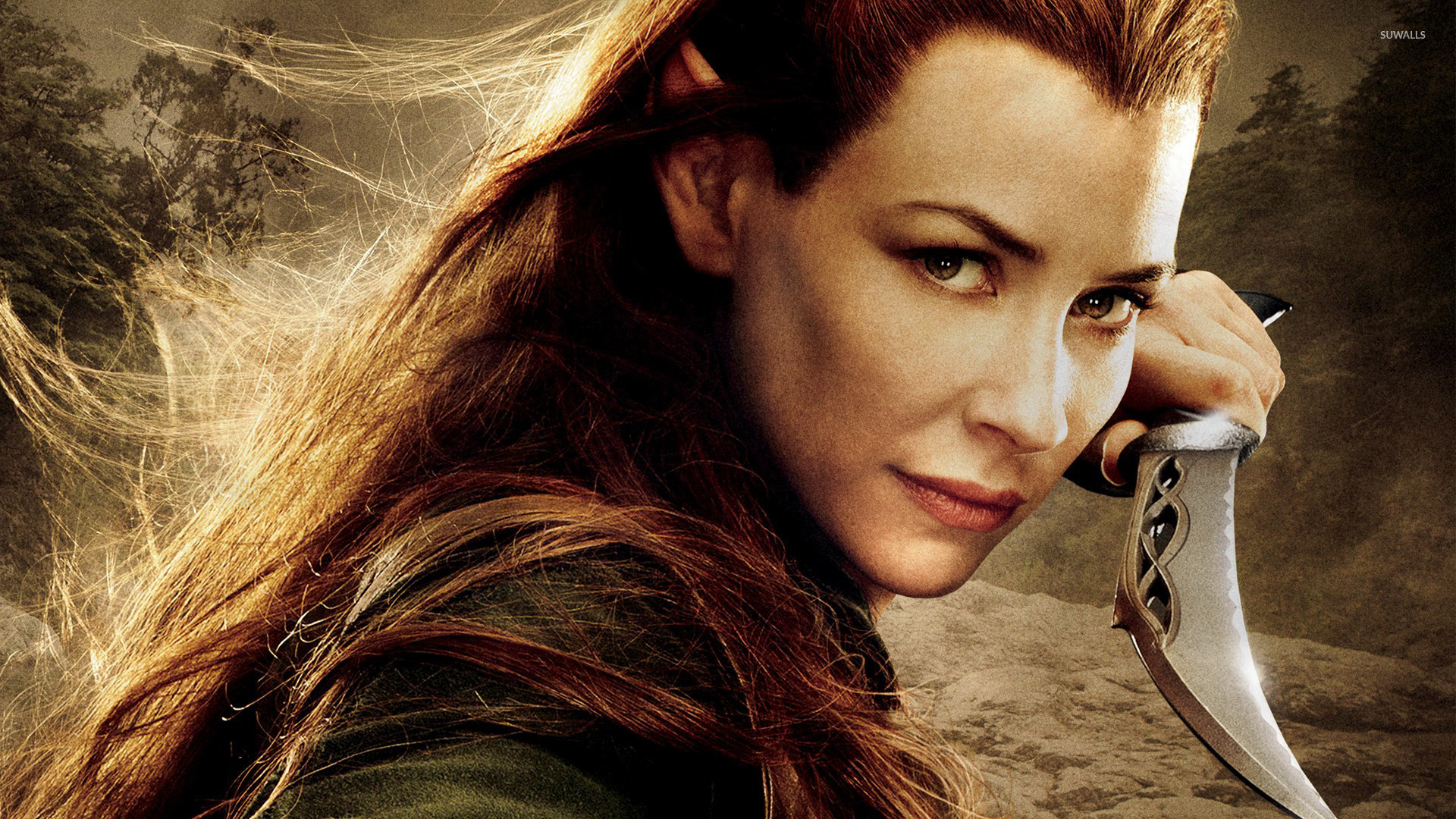 Tauriel – The Hobbit: The Desolation of Smaug wallpaper jpg