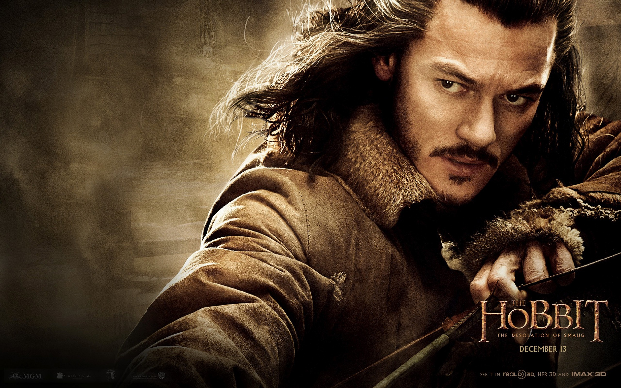 Preview wallpaper the hobbit the desolation of smaug, 2013, luke evans,  bard,