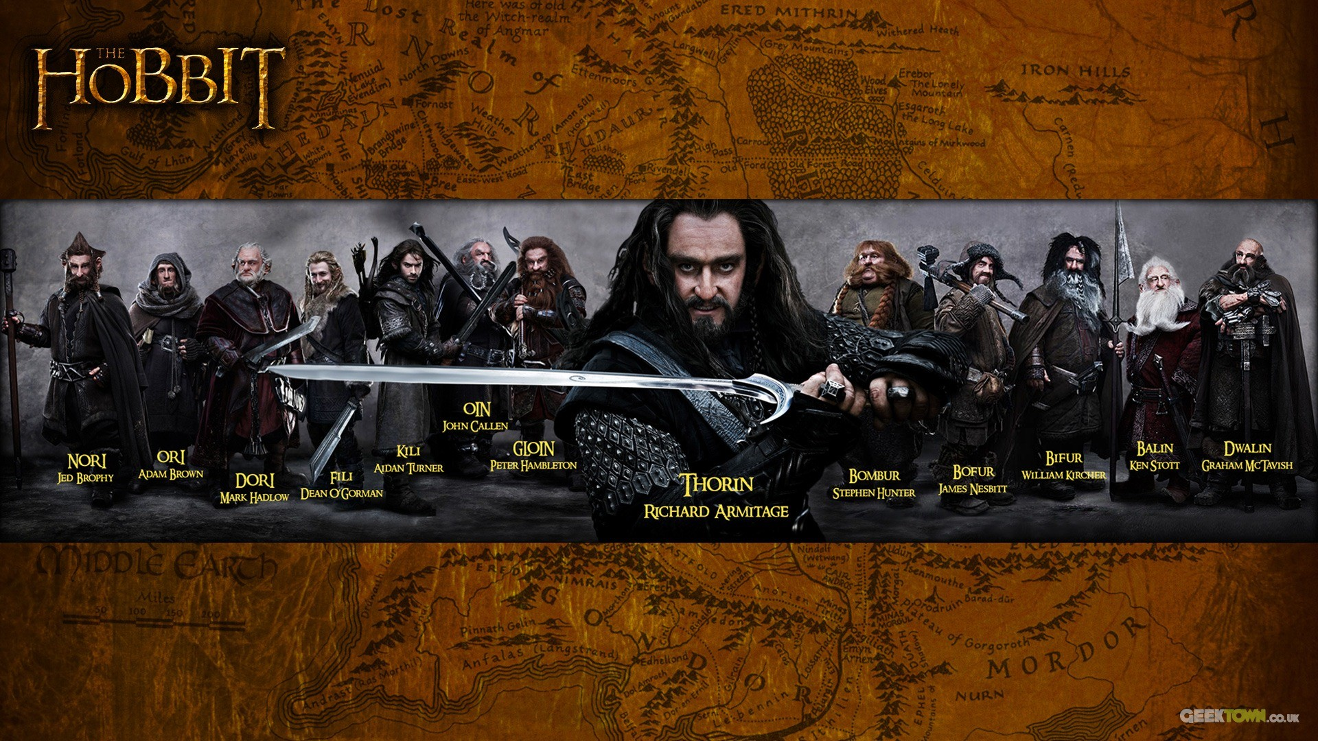 The Hobbit: An Unexpected Journey HD wallpapers #14 – 1920×1080.