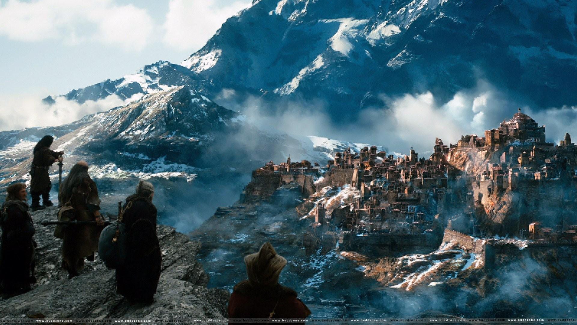 The Hobbit Desolation Of Smaug 2013 fantasy city castle