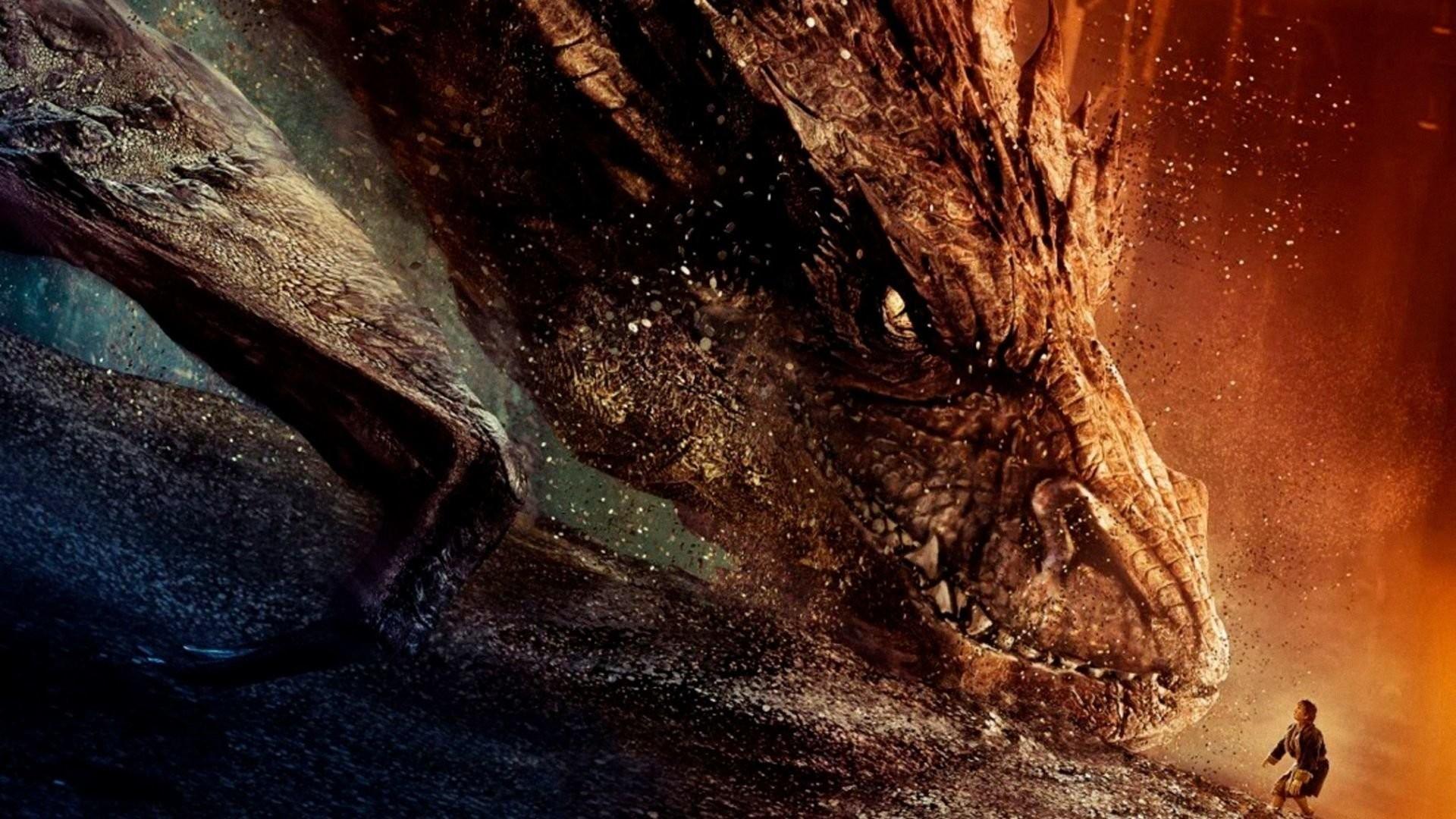 Movie – The Hobbit: The Desolation of Smaug Dragon Wallpaper