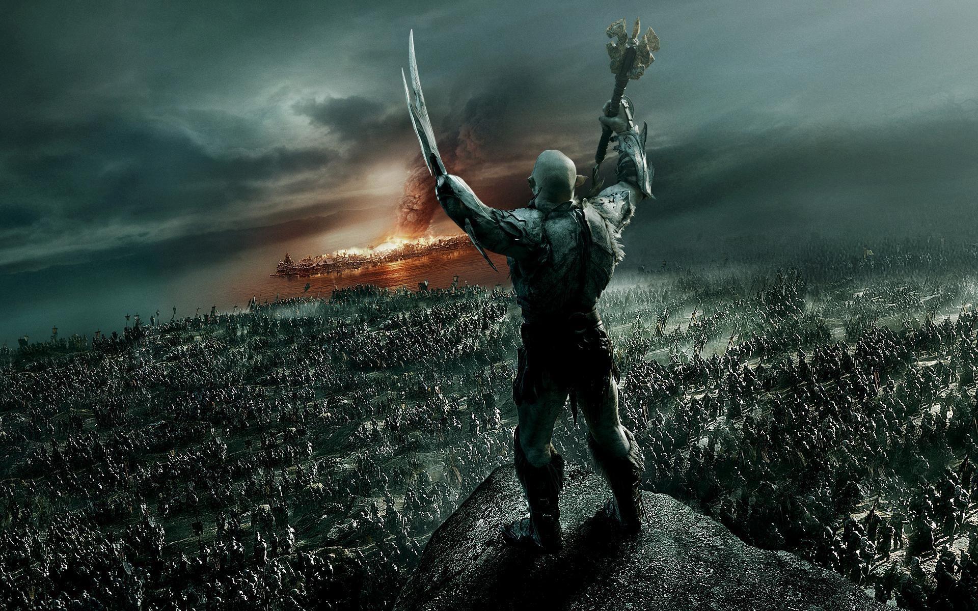 Azog The Defiler In The Hobbit 2014
