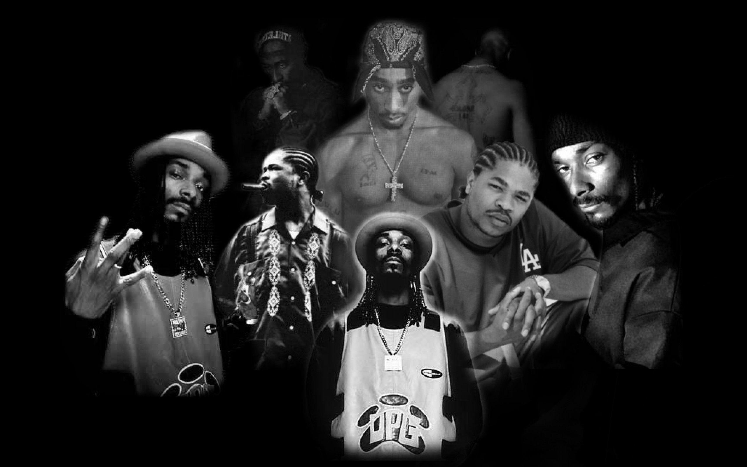 2Pac Snoop Xzibit.