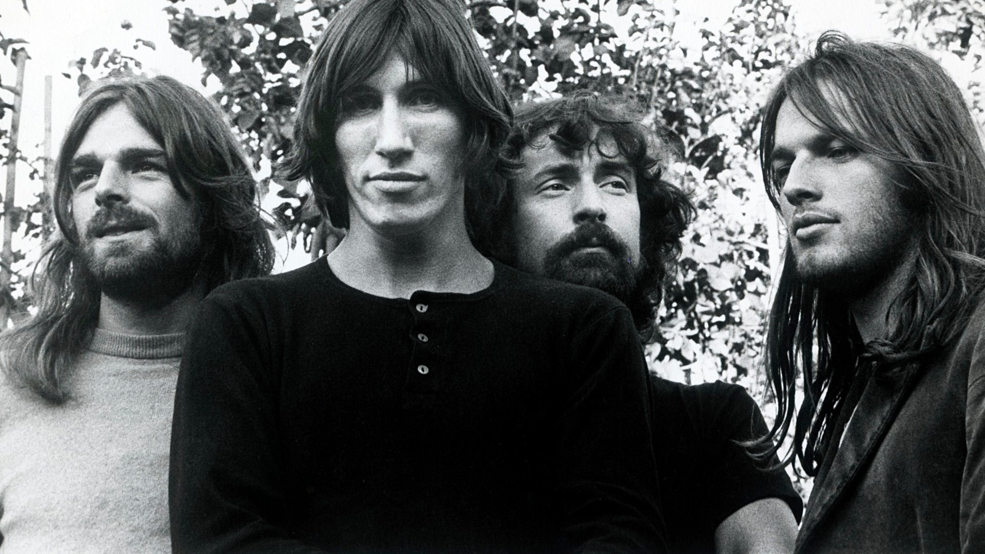 … Pink Floyd Band Members Wallpaper DSOTM Era 1973