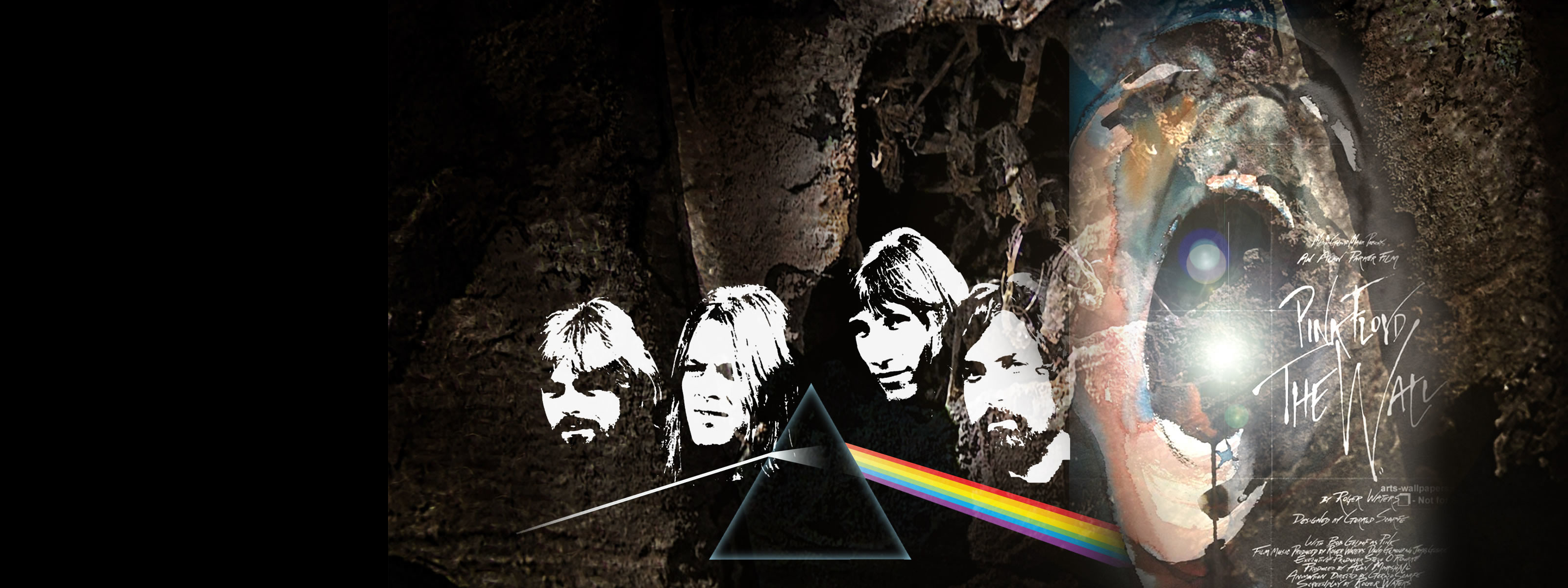 … hd wallpapers scream against the wall under pink floyd …