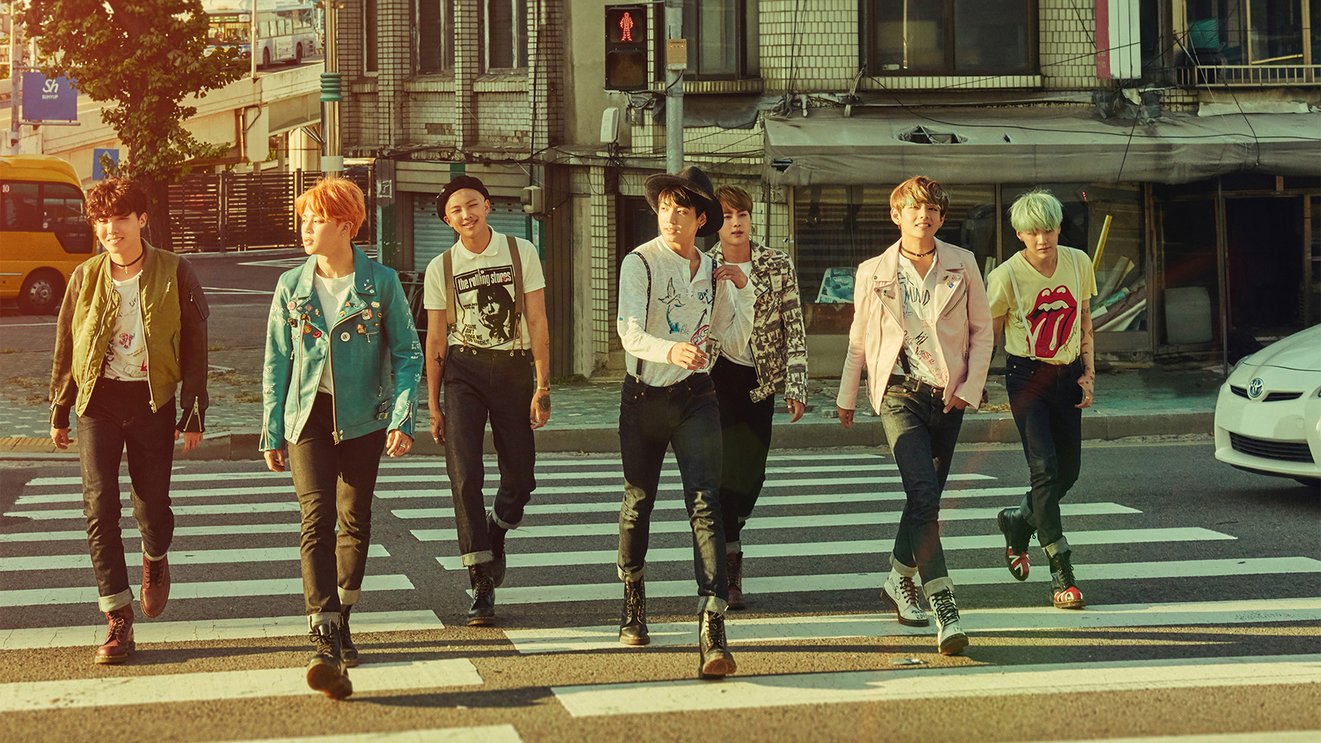 Wallpaper / BTS 방탄소년단 防弾少年団