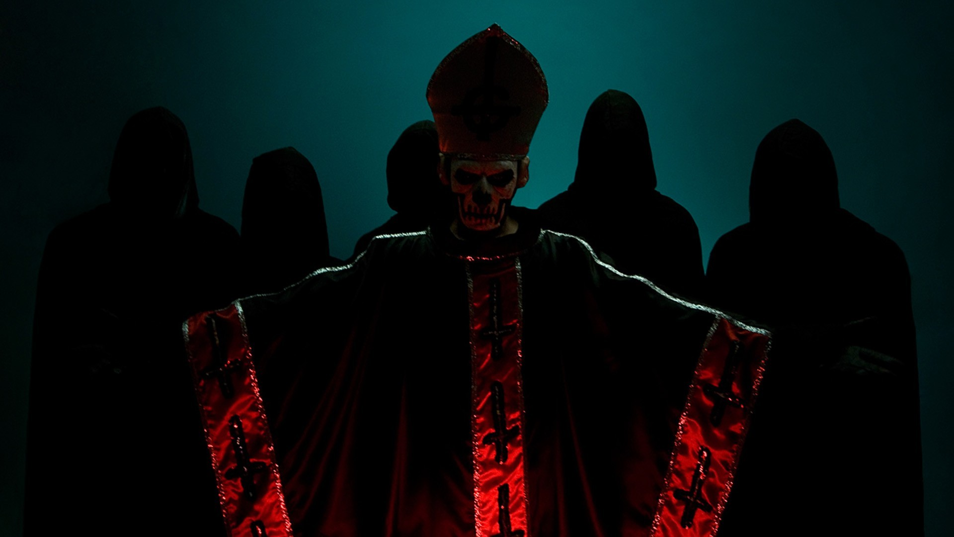 … band ghost pope papa wallpapers …