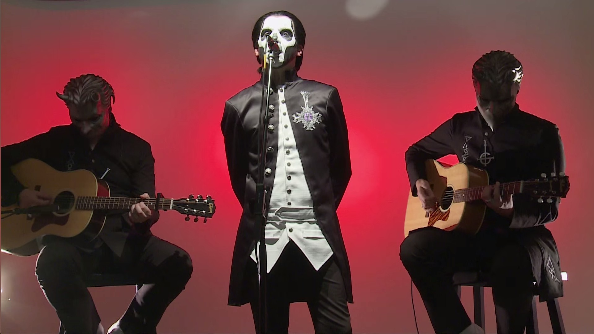 "Ghost performs ""If You Have Ghosts"" live in hardDrive Studio"