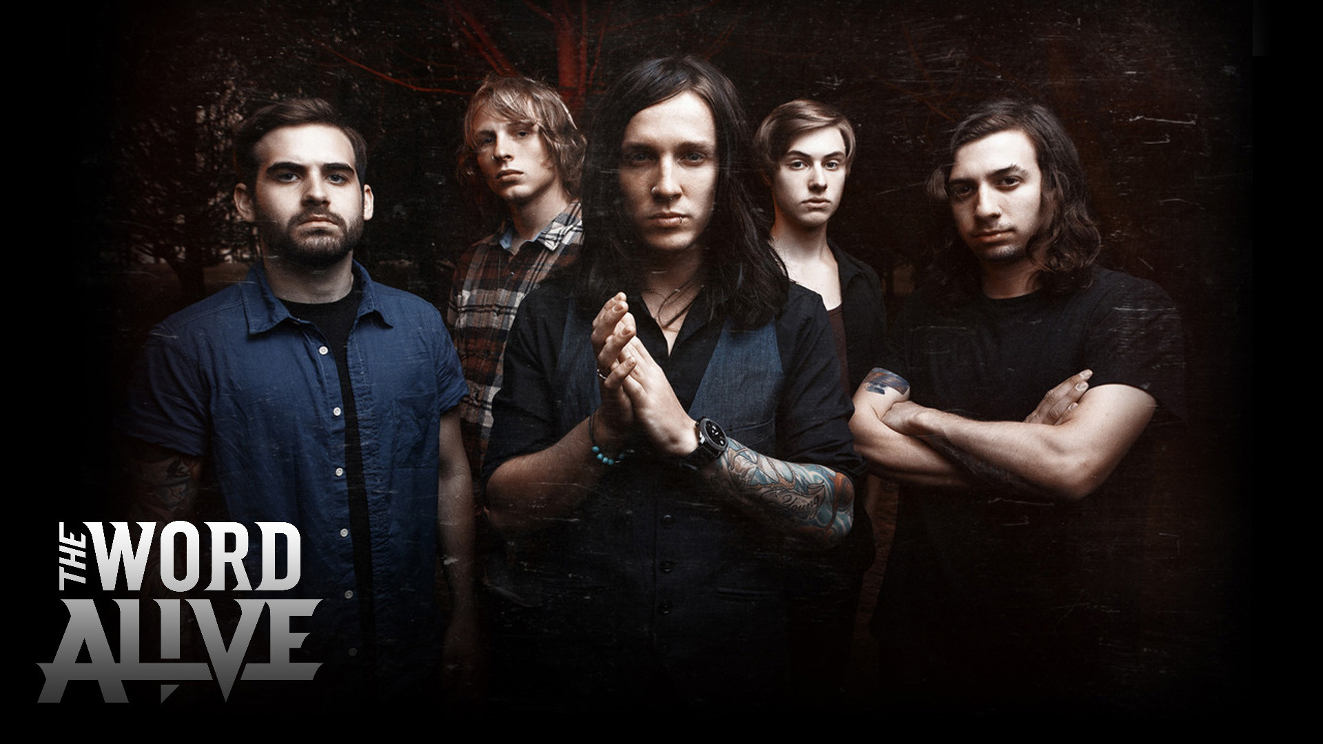 Altwall: The Word Alive wallpaper ( ) Ghost Band Wallpaper