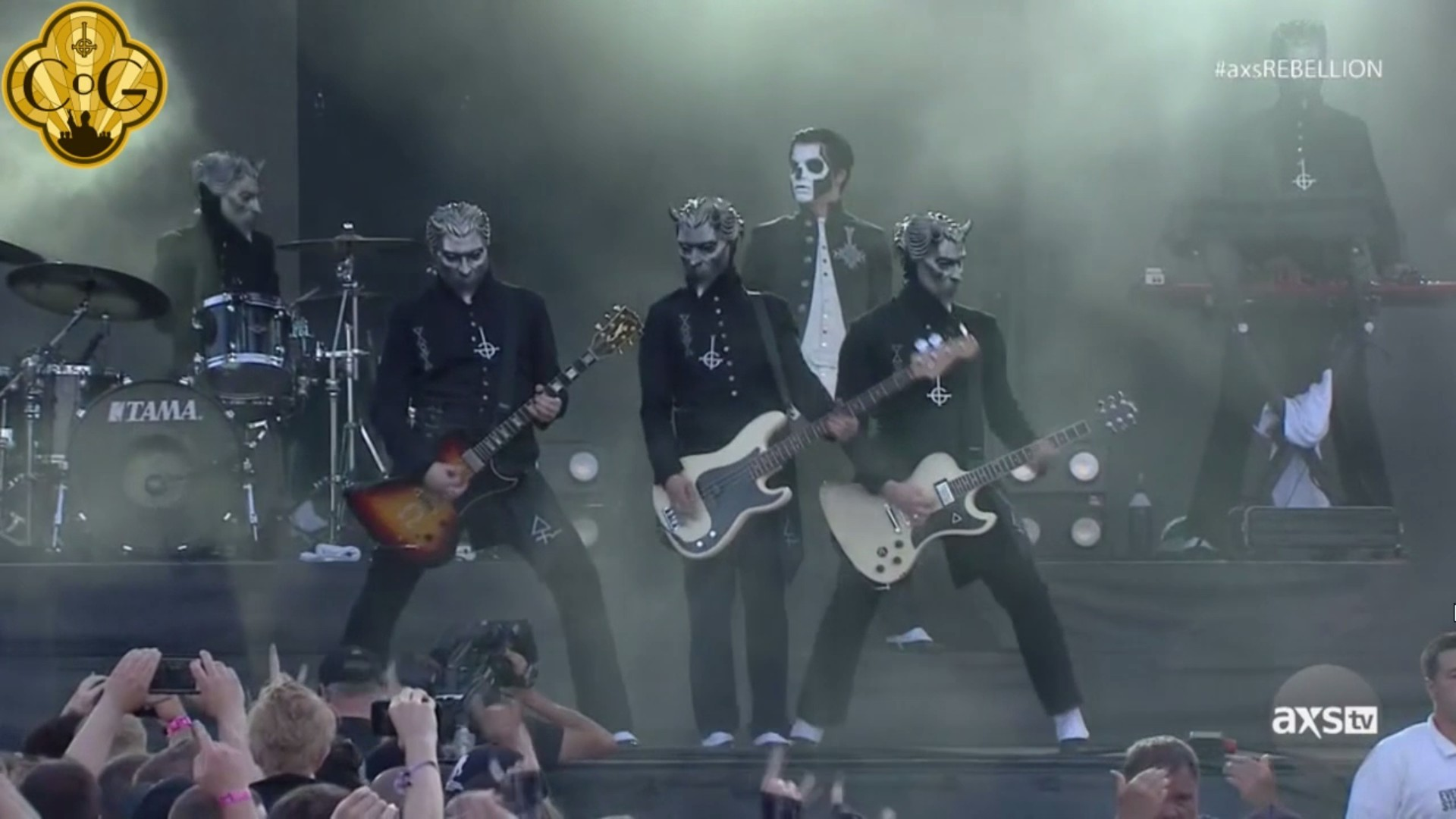 AXS TV Interviews Ghost + Ghost Perform At Carolina Rebellion 2016