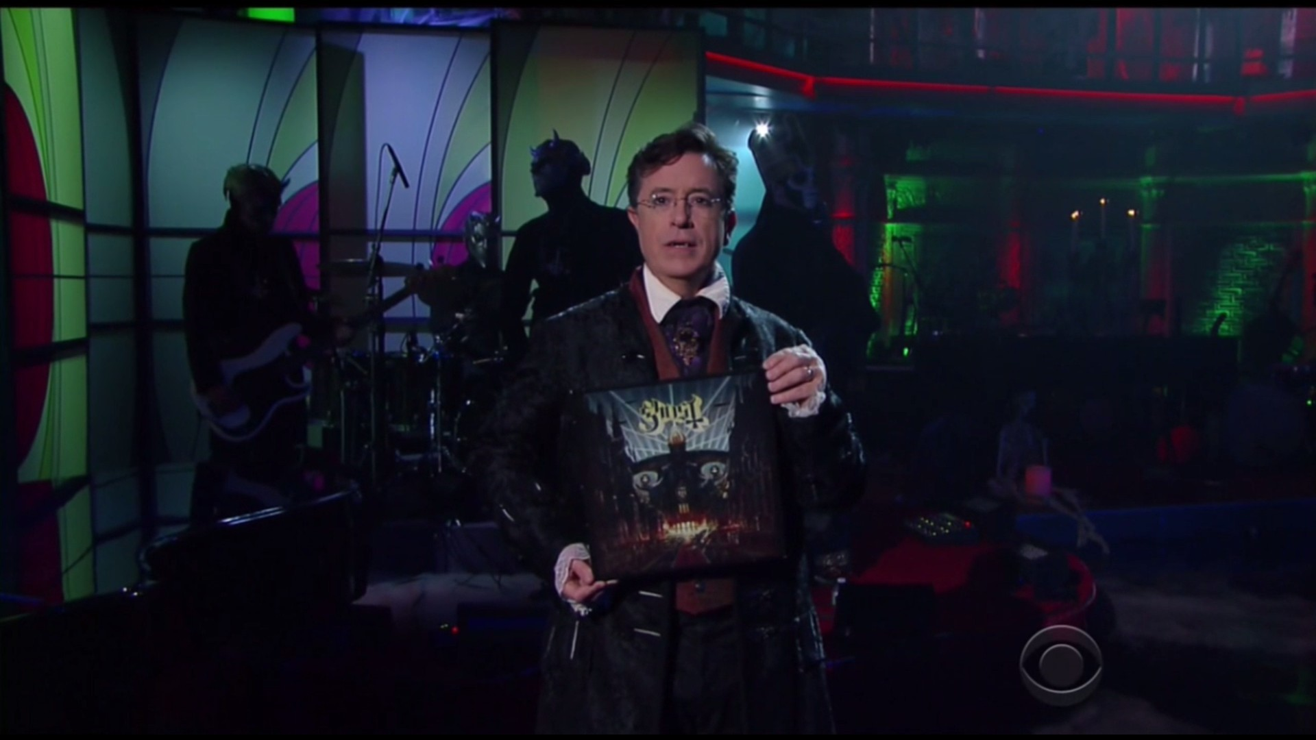 Ghost Performs Live On The Late Show With Stephen Colbert