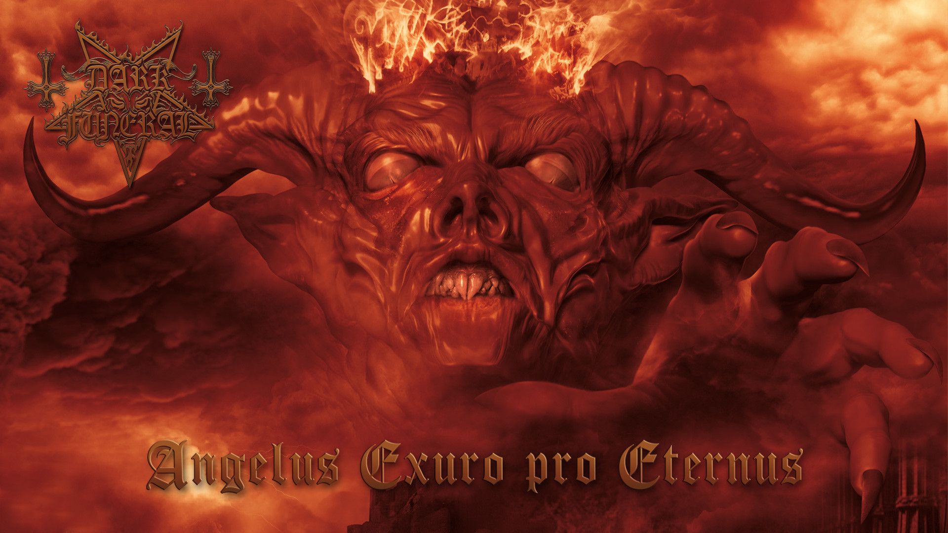DARK FUNERAL black metal heavy hard rock band bands group groups dark demon  fire occult satan