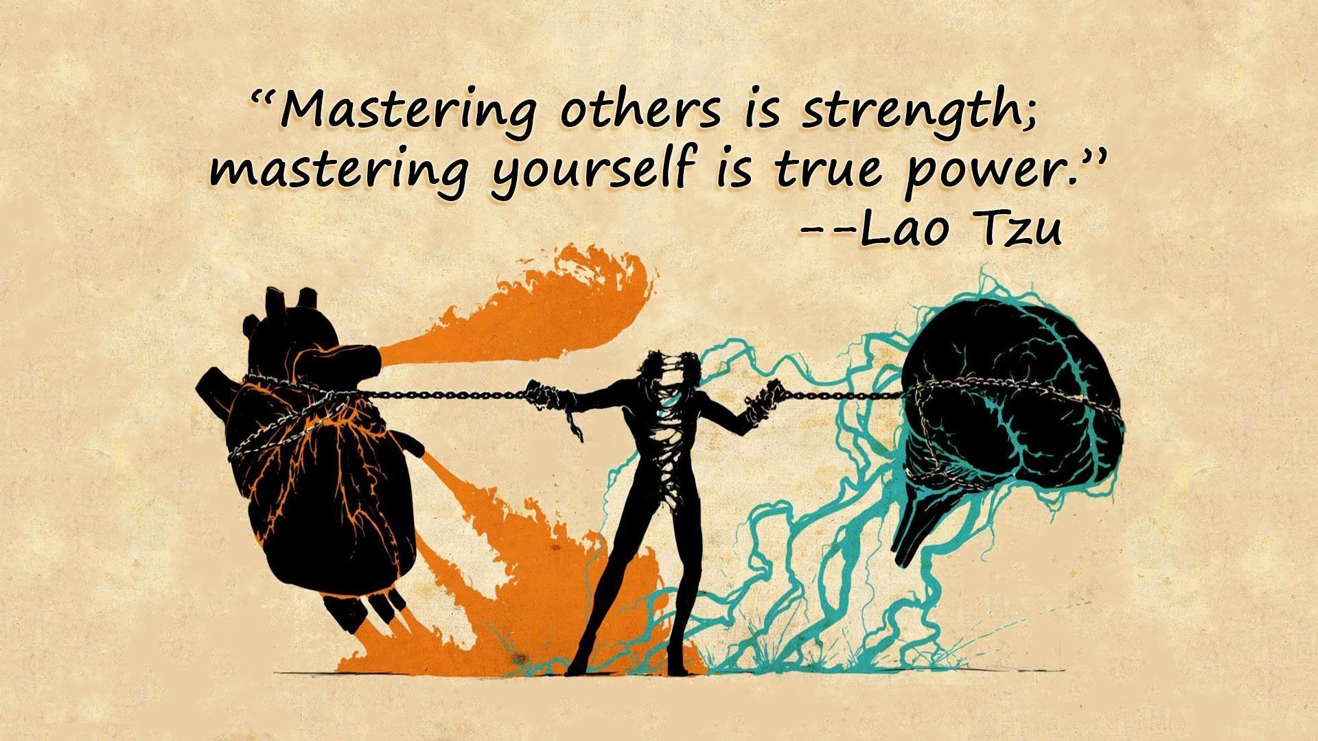 quotes Taoism Lao Tzu / Wallpaper