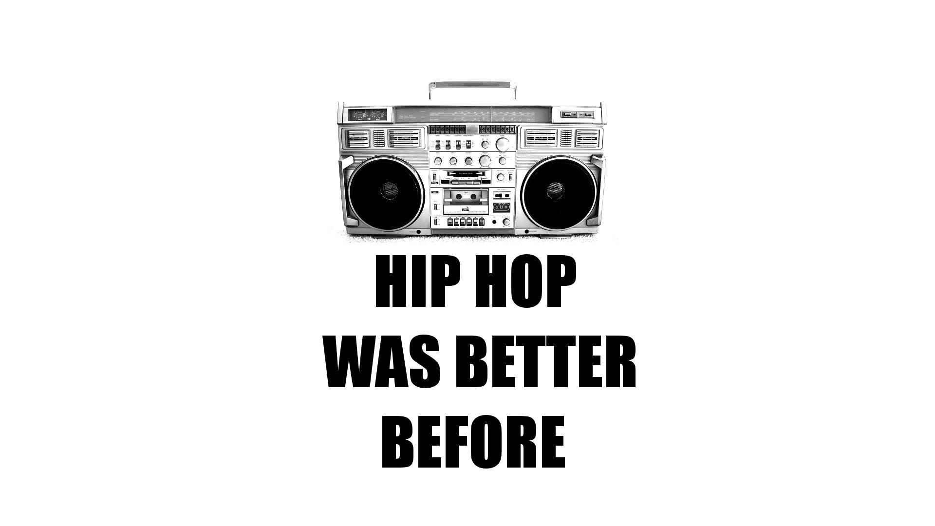 Boom Bap Box Cassette Deck Hip-hop Mc Microphone Nyc Old School Skool Rap  Reel To Retro RUN DMC Vintage