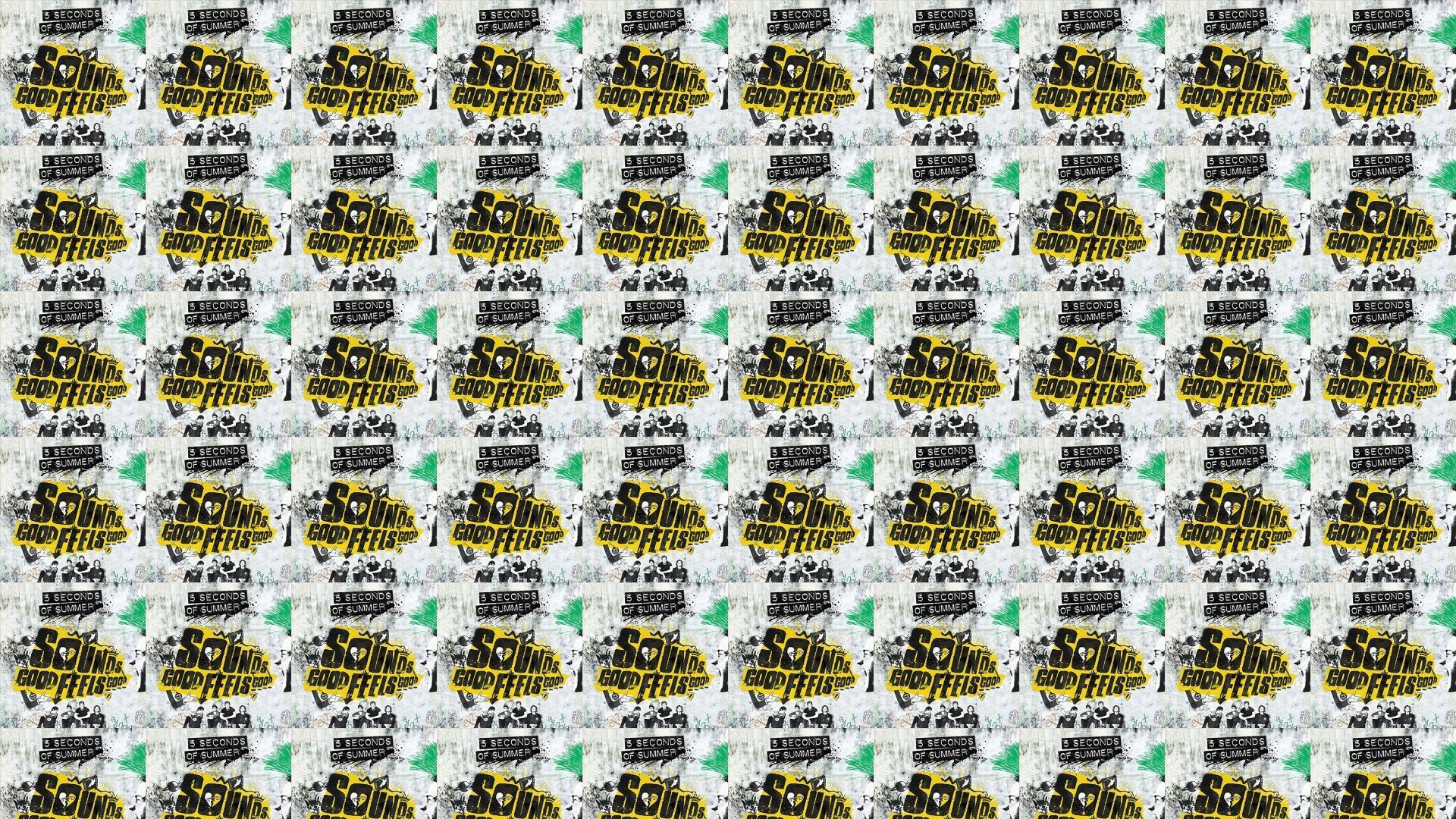 5 Seconds Summer Sounds Good Feels Good Wallpaper Â« Tiled Desktop Wallpaper