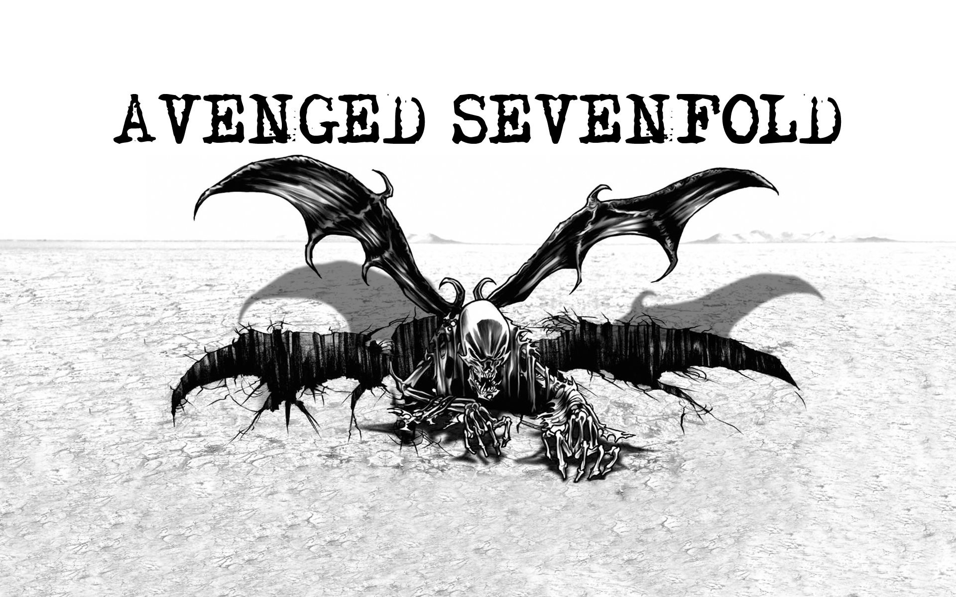 Avenged Sevenfold SkullBat by McKee91 …
