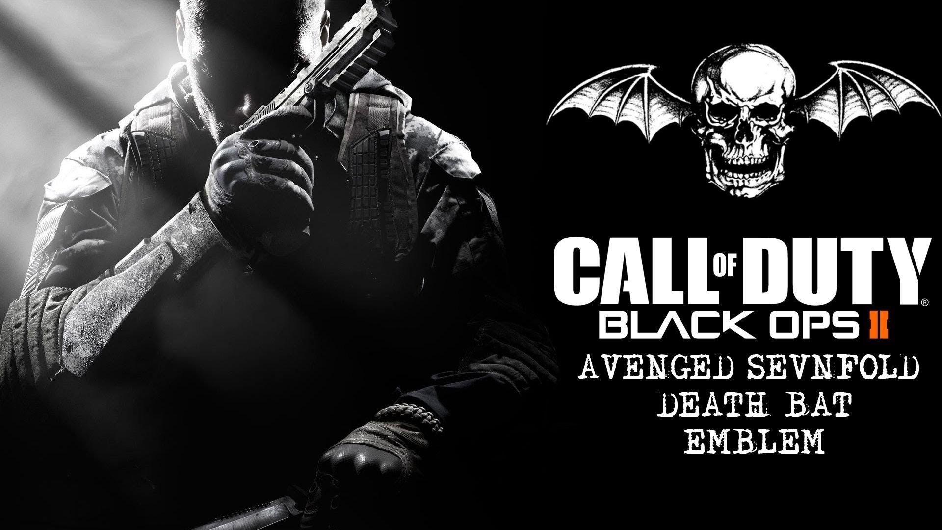 COD: Black Ops 2 Avenged Sevenfold Emblem Tutorial