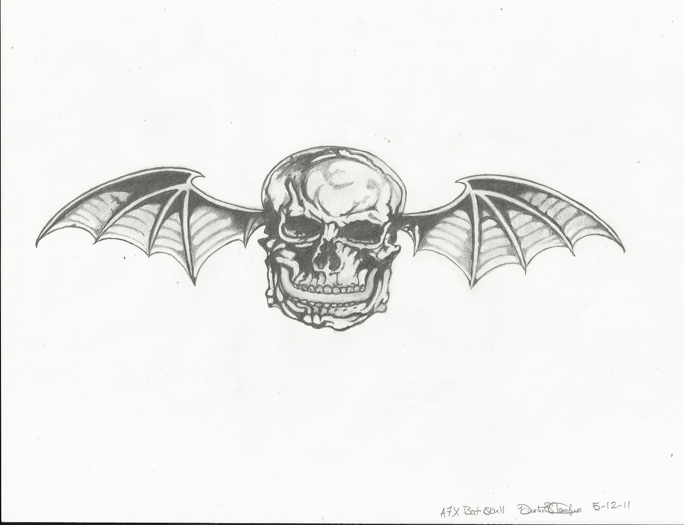 #5 A7X Deathbat Avenged Sevenfold Fan Art 22952563 Fanpop