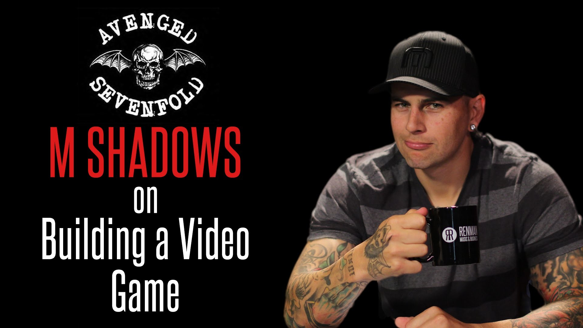 """M Shadows of Avenged Sevenfold on Building the Video Game """"Death Bat"""" –  YouTube"""