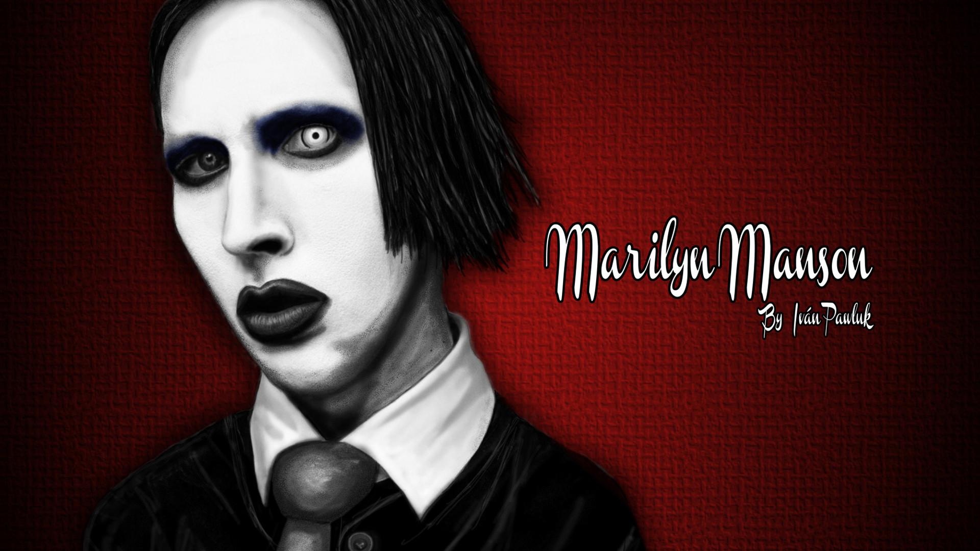MARILYN MANSON industrial metal rock heavy shock gothic glam vx .