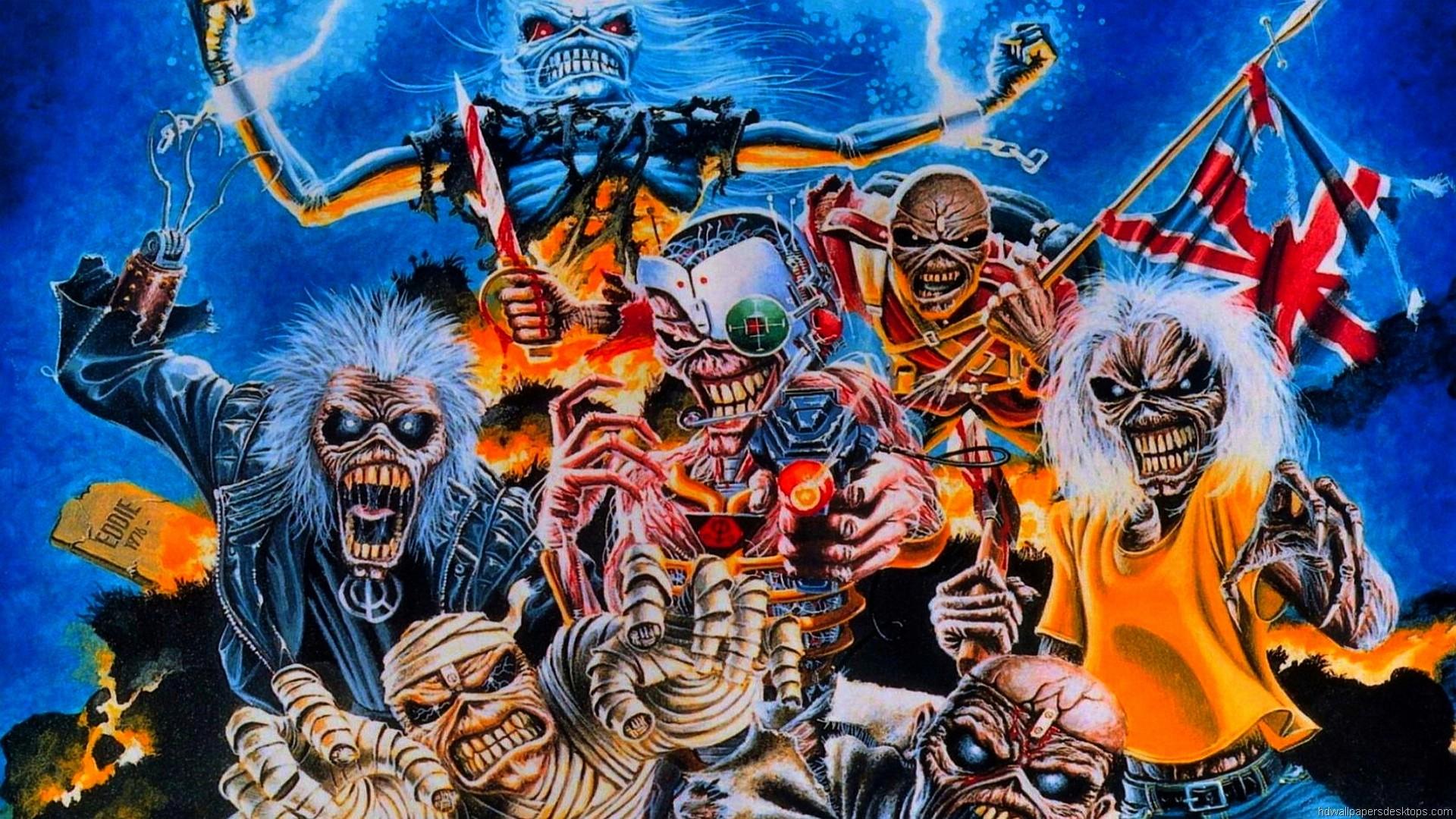 Iron Maiden Wallpaper, Iron Maiden HD Wallpaper, Background, 1920×1080