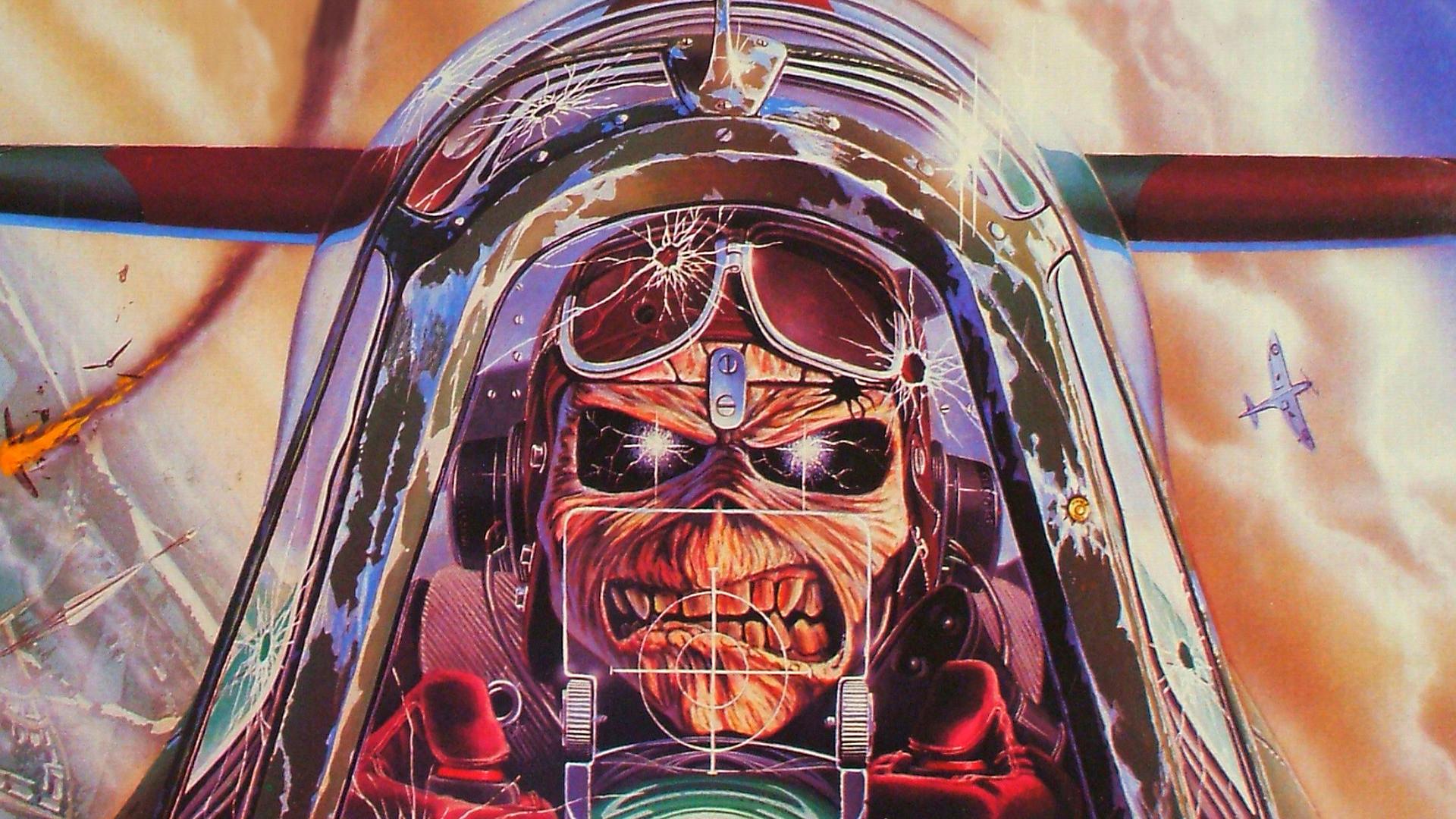 Aces High – Iron Maiden Widescreen Wallpaper – #3406