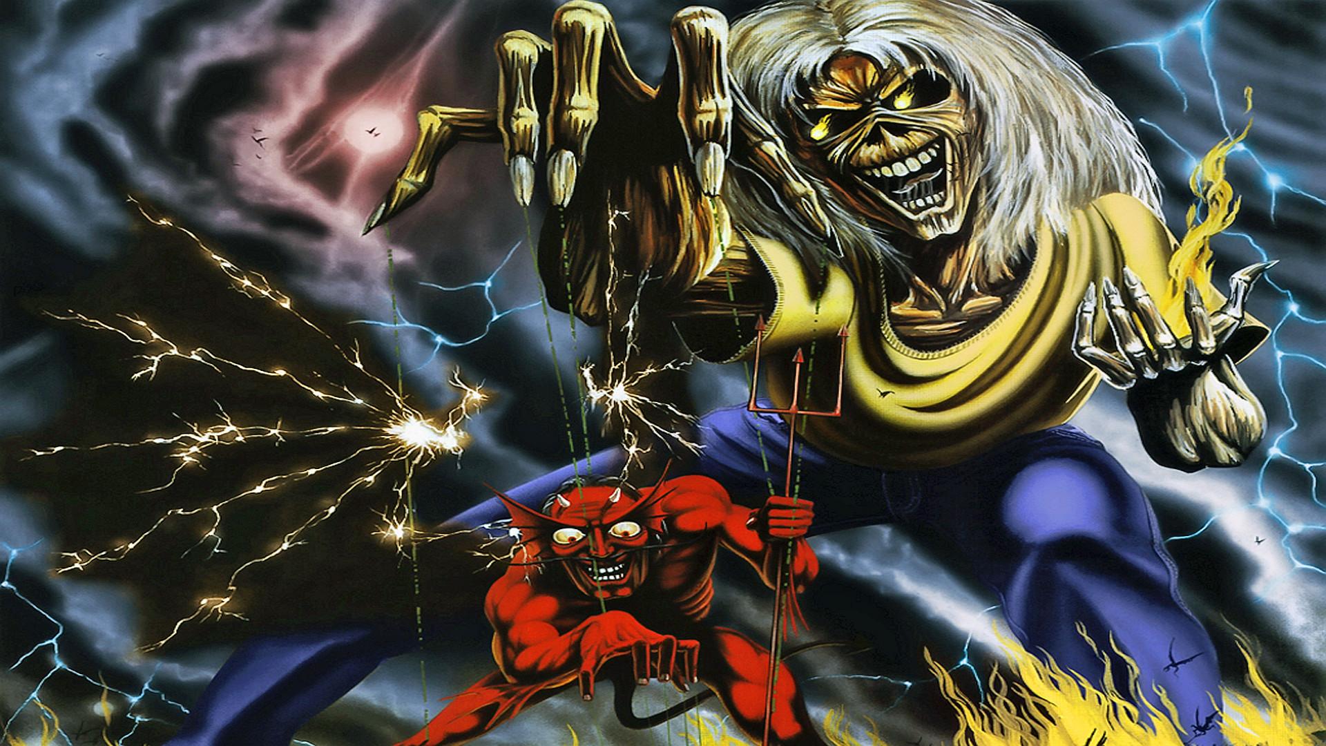 IRON MAIDEN heavy metal dark album cover eddie fs wallpaper | |  120414 | WallpaperUP