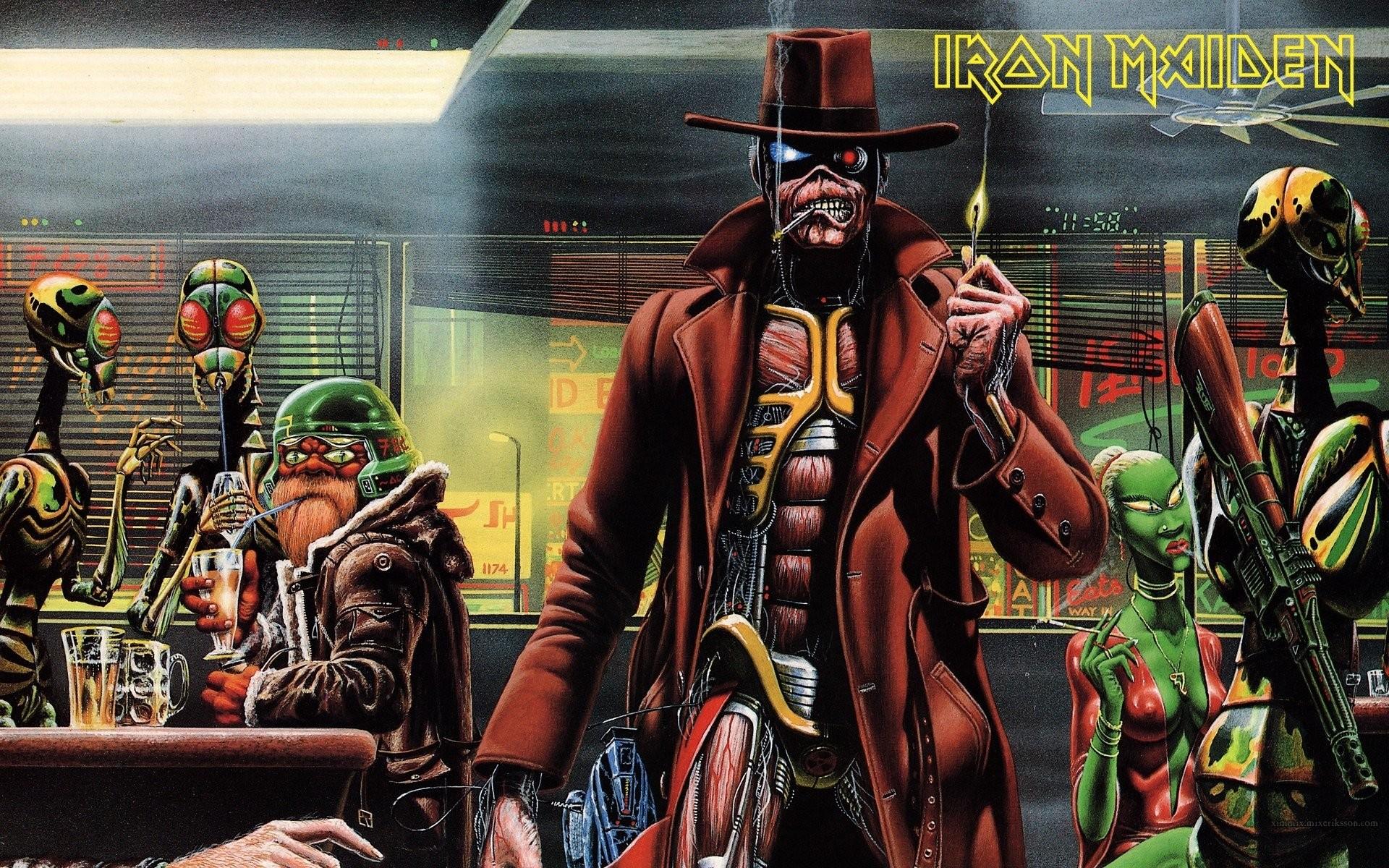 HD Wallpaper | Background ID:402494. Music Iron Maiden. 6 Like.  Favorite