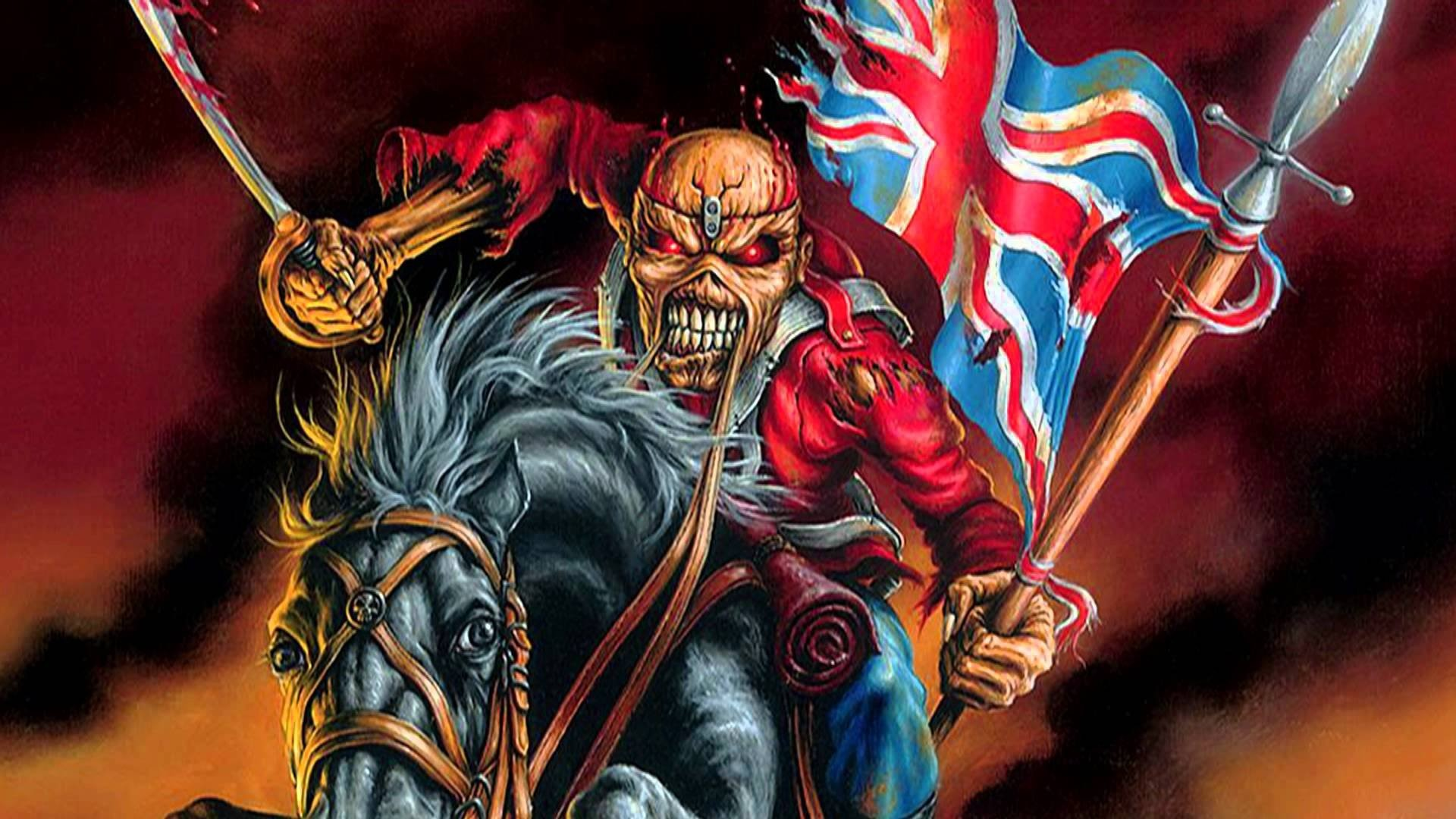 Iron Maiden Heavy Metal Power Artwork Dark Evil Eddie Skull Wallpaper At  Dark Wallpapers