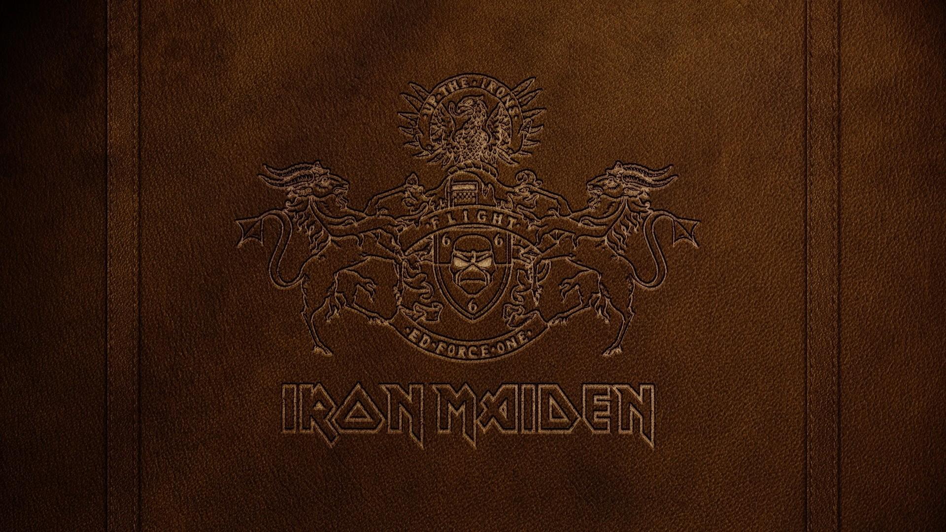 iron maiden, letters, symbol