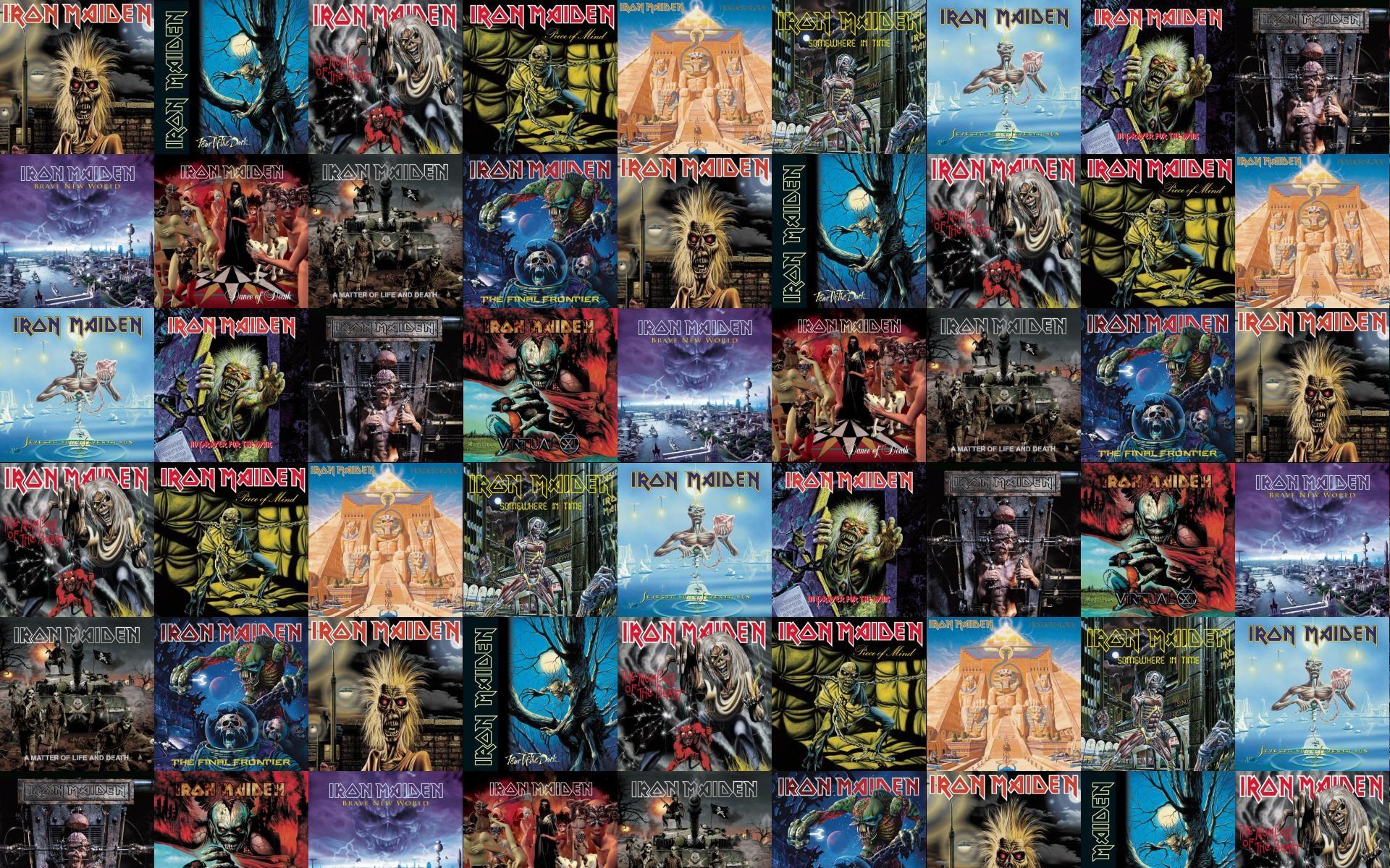 Iron Maiden Killers Fear Dark Number Beast Piece Wallpaper Â« Tiled Desktop  Wallpaper