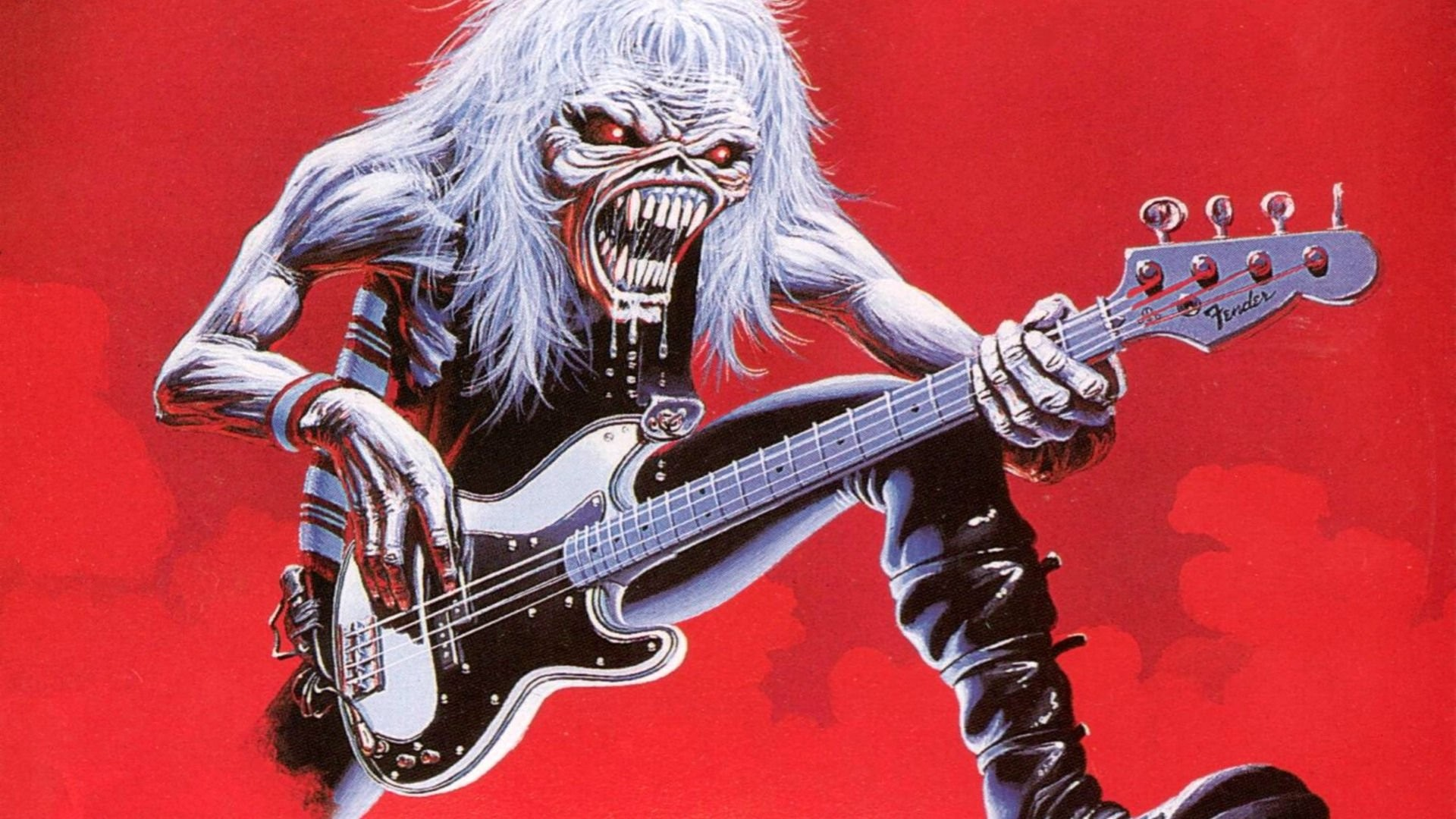 Iron Maiden Heavy Metal Power Artwork Fantasy Dark Evil Eddie Skull Demon  Poster Guitar Wallpaper At Dark Wallpapers