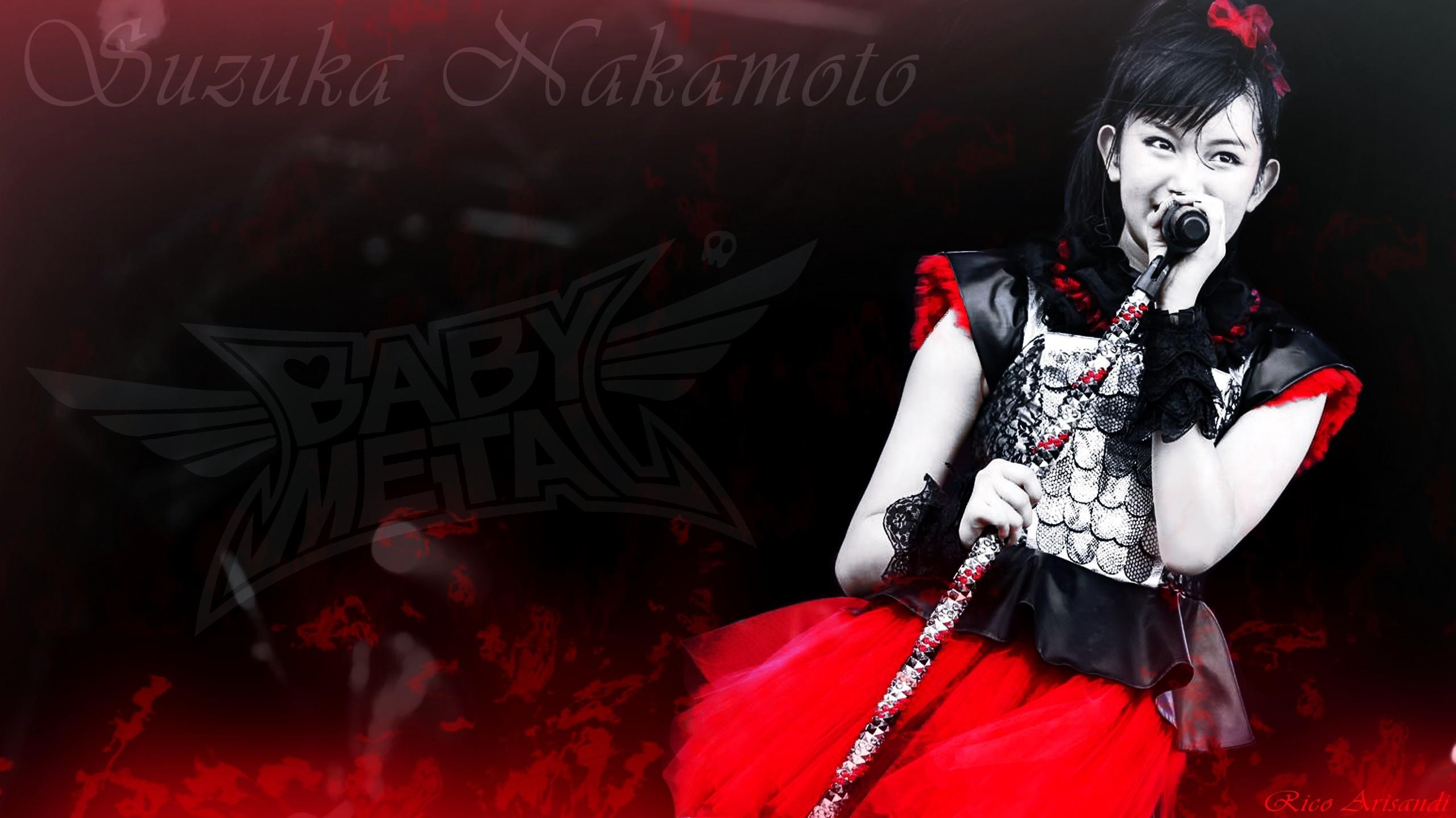 … Suzuka Nakamoto (Su-Metal) Wallpaper BabyMetal by arisandiart
