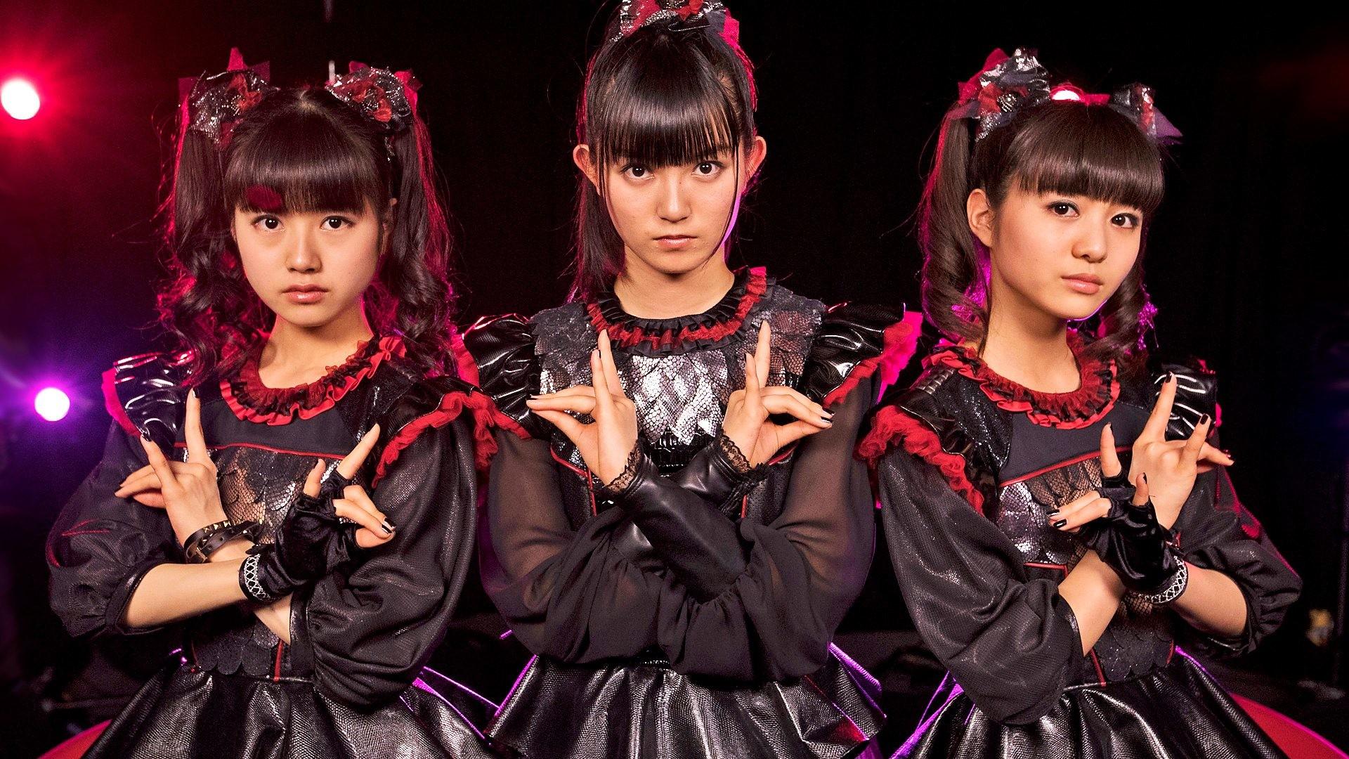 Musik – Babymetal Heavy Metal Metal Idol Japanese Asian Oriental Bakgrund