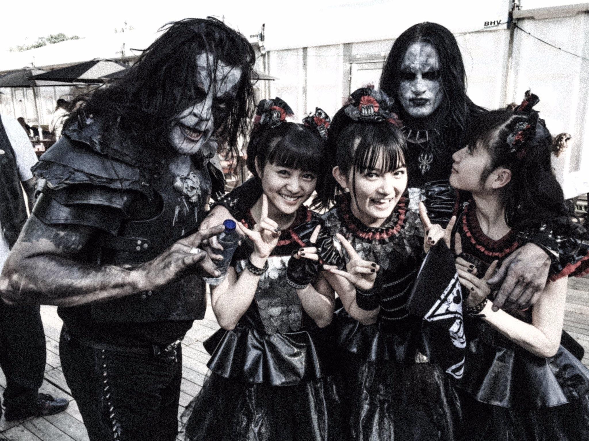 Babymetal With Abbath