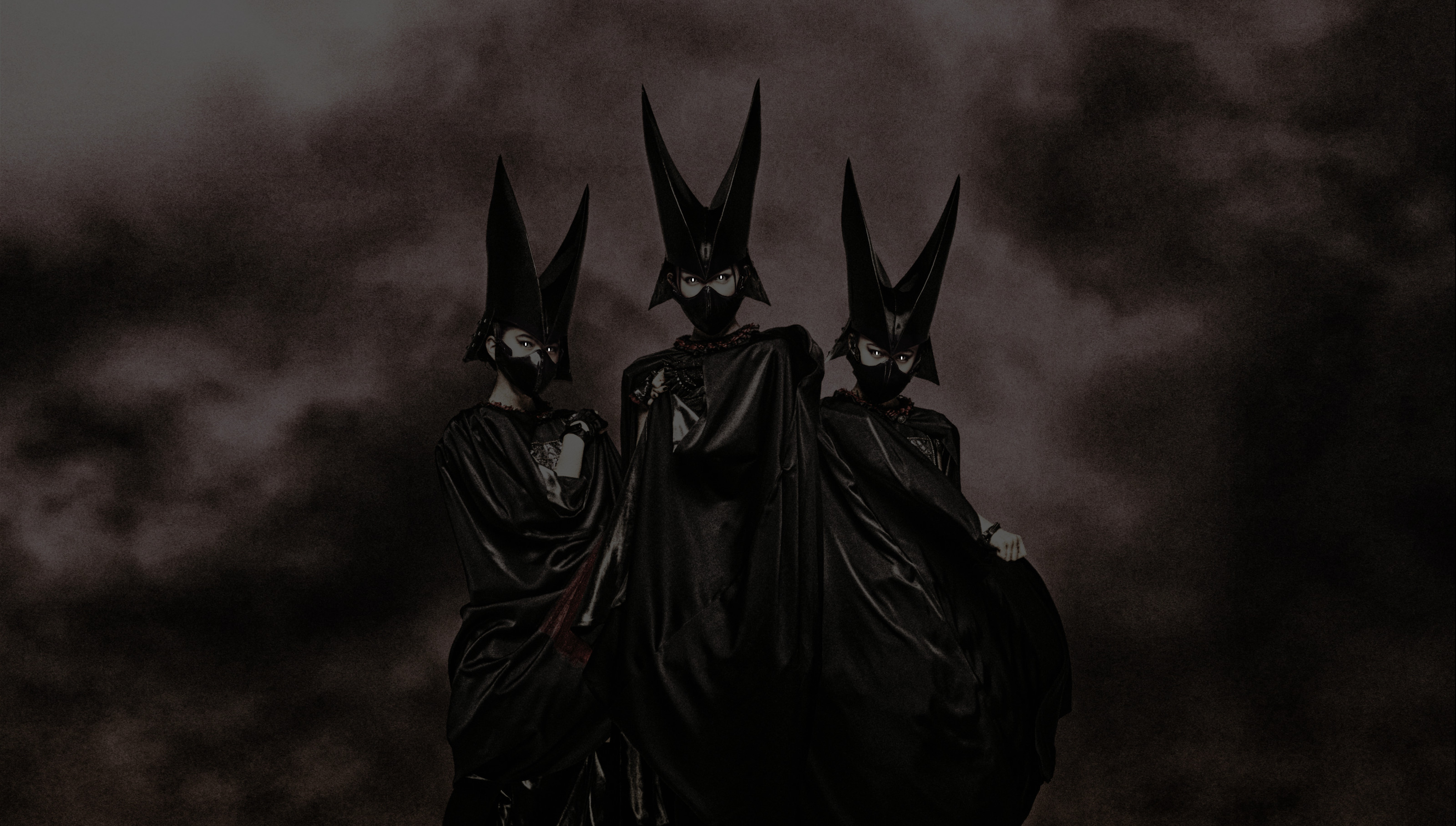 """ImagesI took an official Babymetal wallpaper and made it less """"cute"""". I'm  kind of into it."""
