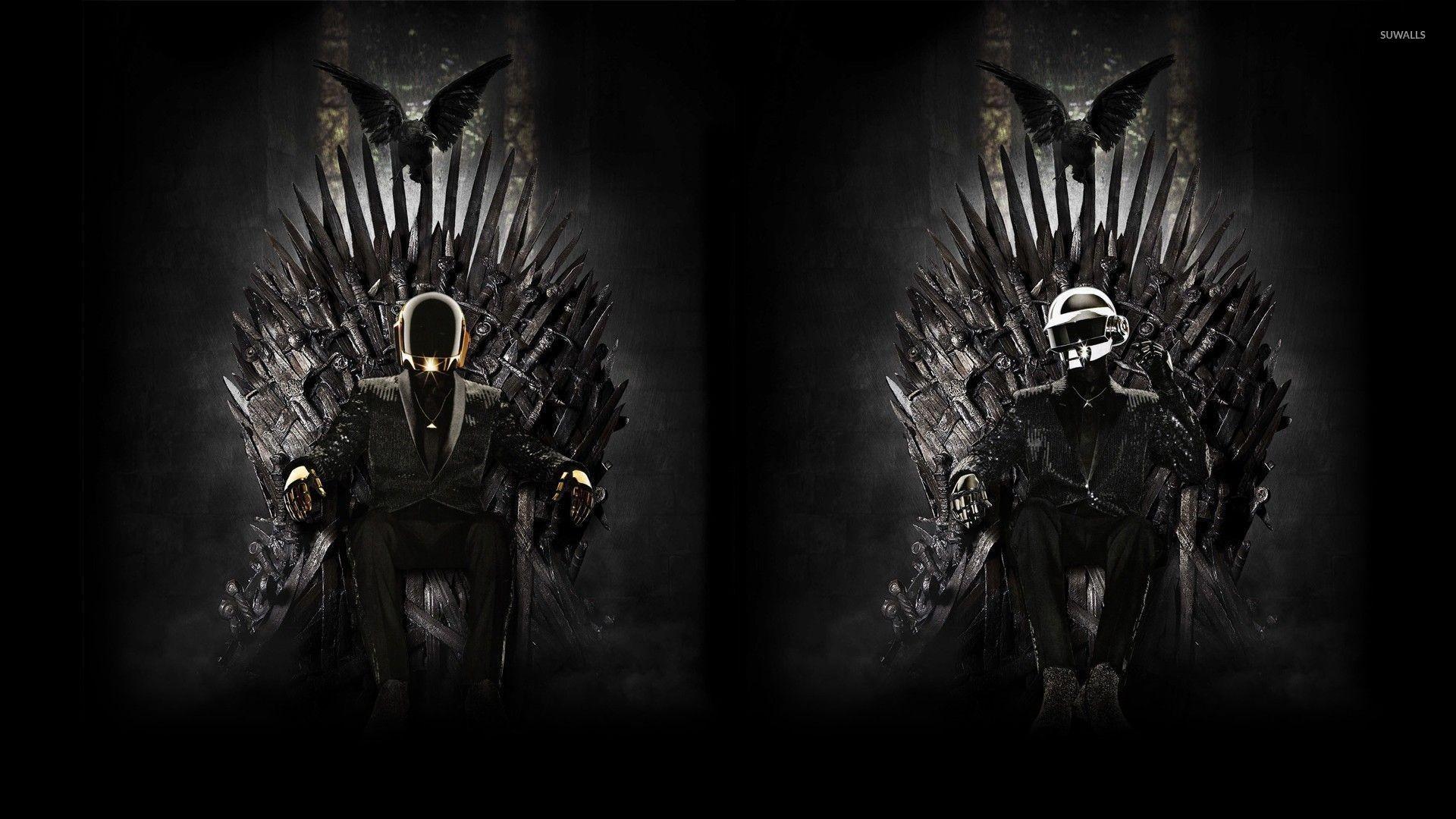 Daft Punk on the Iron Throne wallpaper jpg